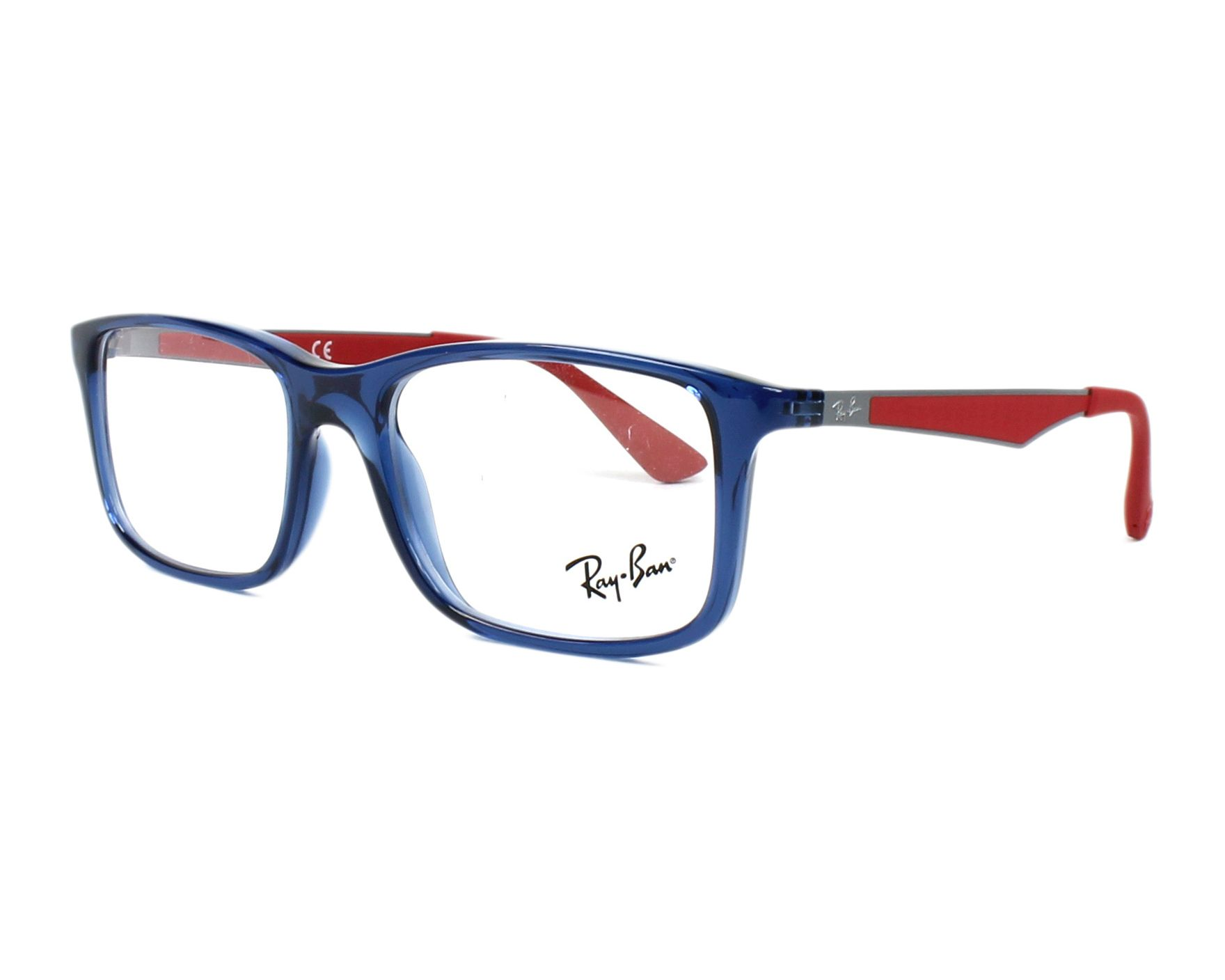 eyeglasses Ray-Ban RY-1570 3721 - Blue Red profile view 2d2ff1f5ed58