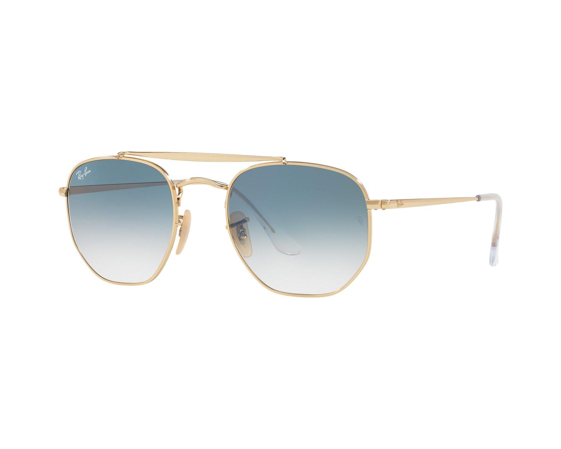 d8b50b9c06aa8 Sunglasses Ray-Ban RB-3648 001 3F 54-21 Gold