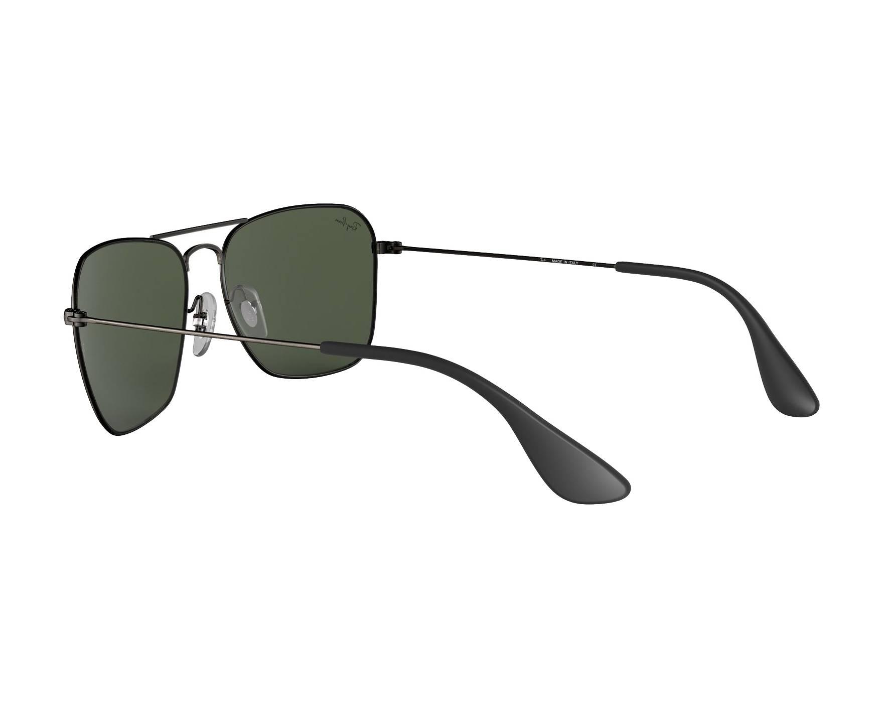 88ab3736686 Sunglasses Ray-Ban RB-3610 913971 58-15 Gun 360 degree view 5