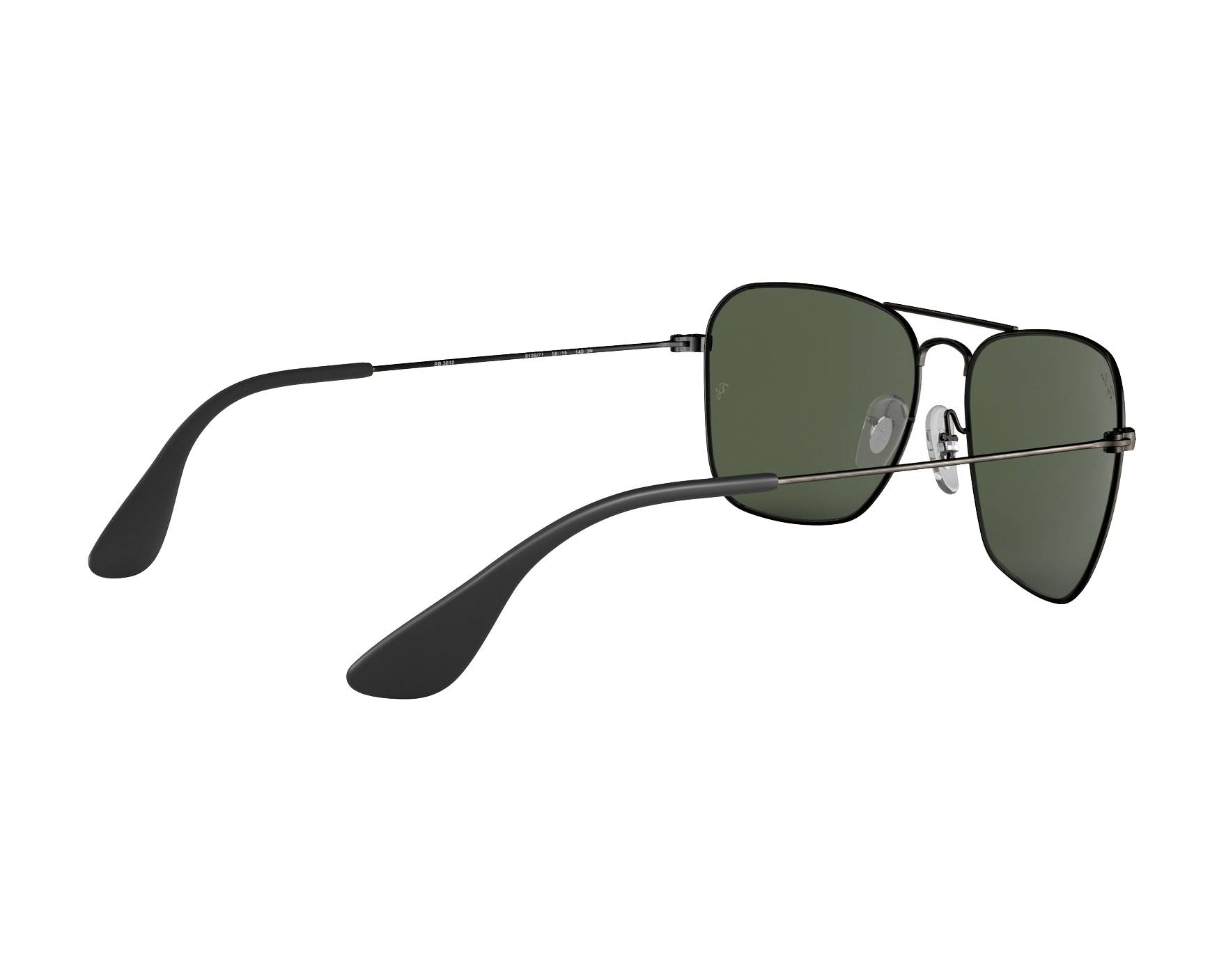 d50103cd8d8 Sunglasses Ray-Ban RB-3610 913971 58-15 Gun 360 degree view 9
