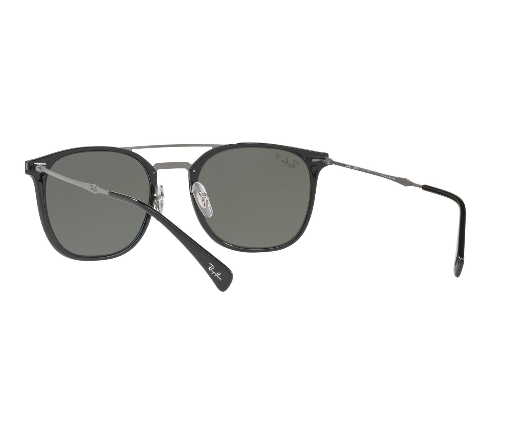 e7baa74fa3 Sunglasses Ray-Ban RB-4286 601 9A - Black Grey 360 degree view