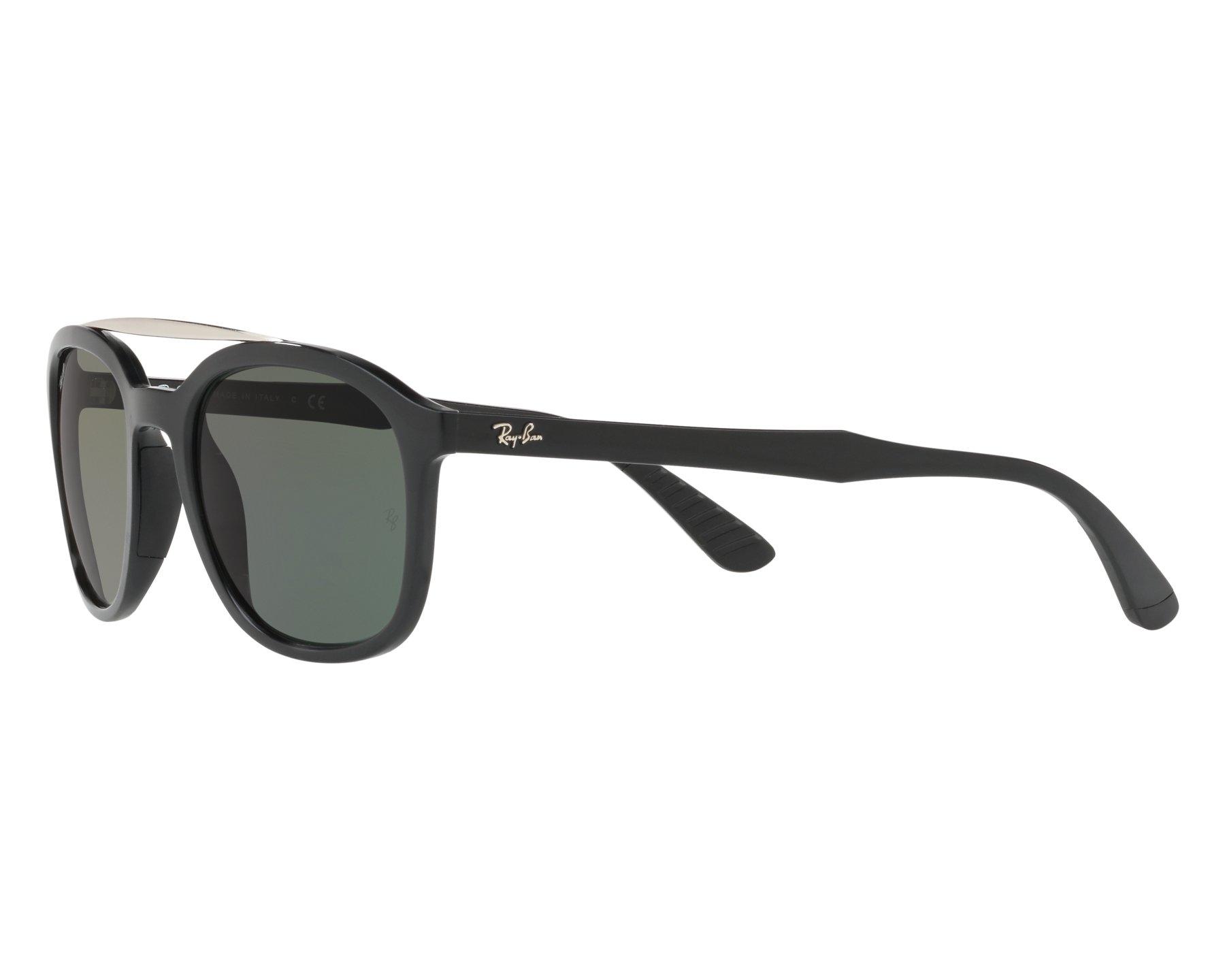 d9f3b1606d Sunglasses Ray-Ban RB-4290 601 71 53-21 Black Silver 360