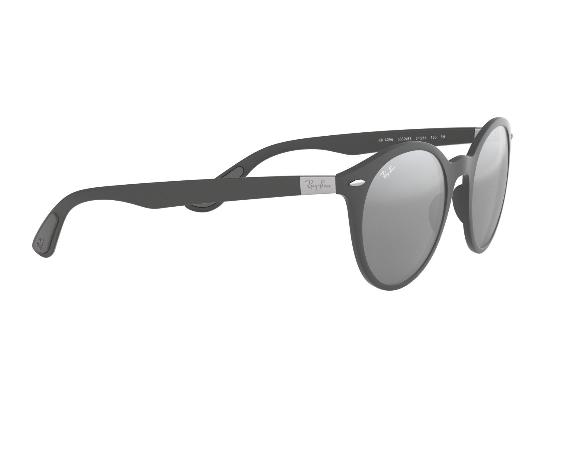 9470c13413 Sunglasses Ray-Ban RB-4296 633288 51-21 Grey 360 degree view 11