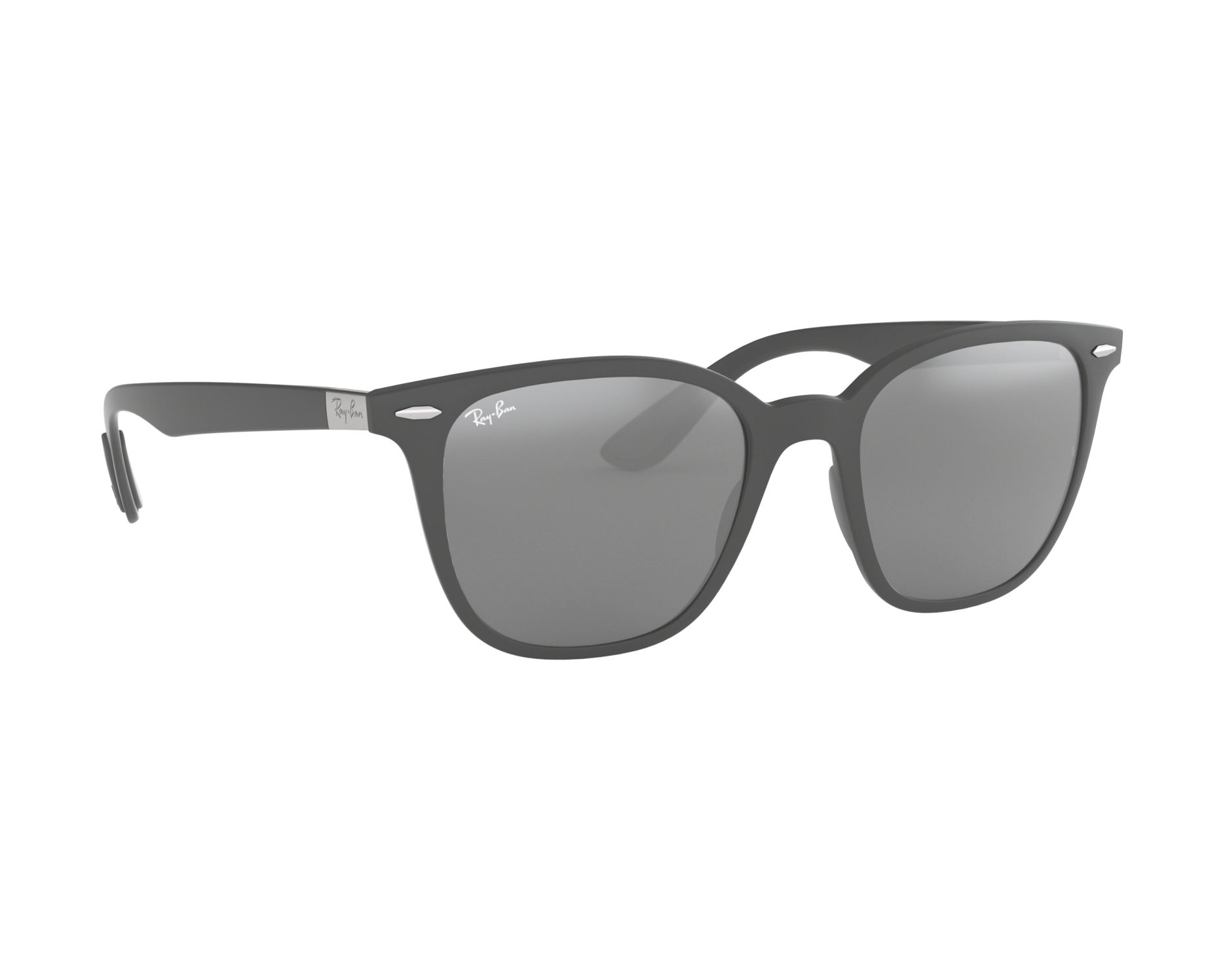 45b24dcc9f Sunglasses Ray-Ban RB-4297 633288 51-19 Grey 360 degree view 12