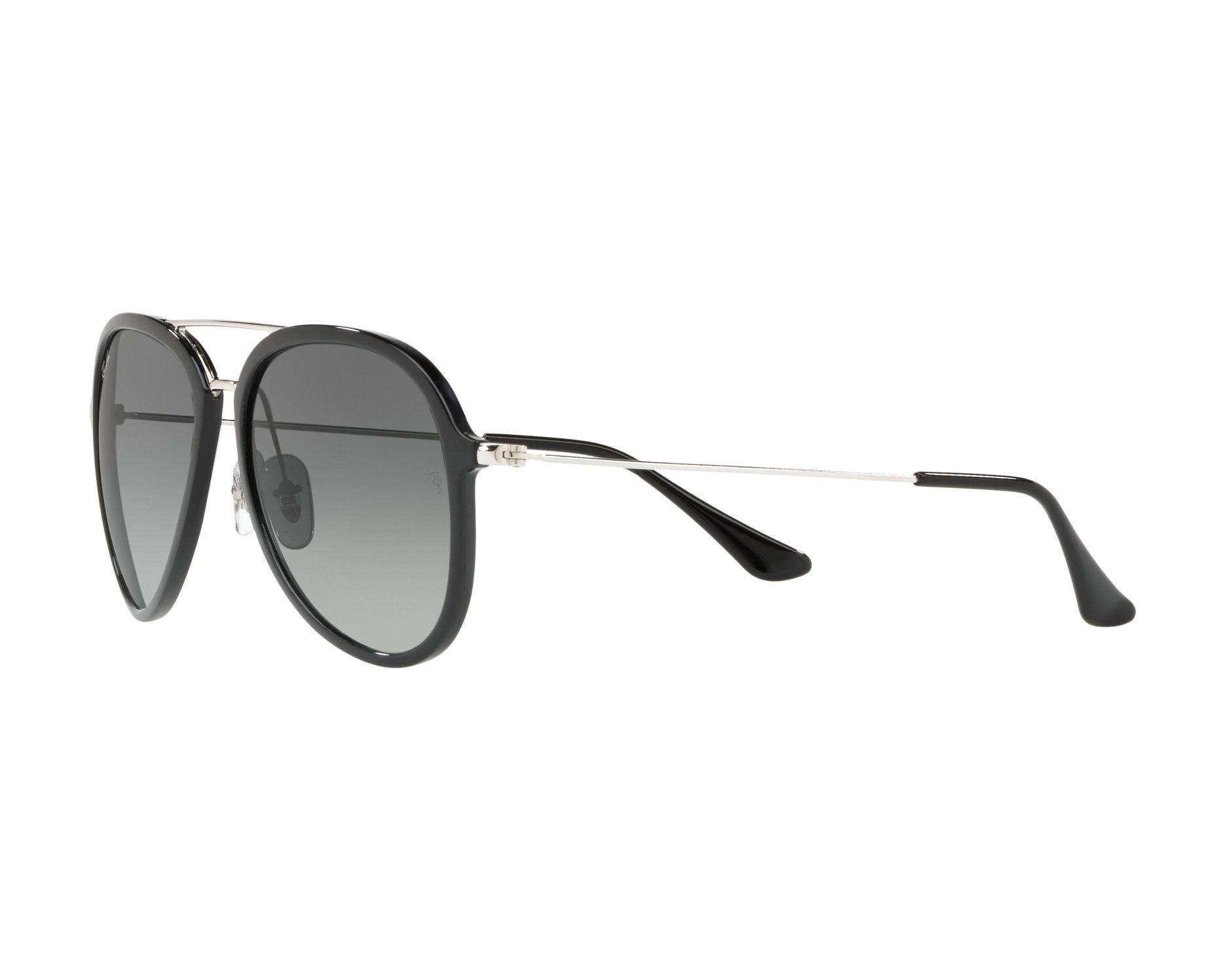 Sunglasses Ray-Ban RB-4298 601 71 57-17 Black Silver 360 2a4017ab32