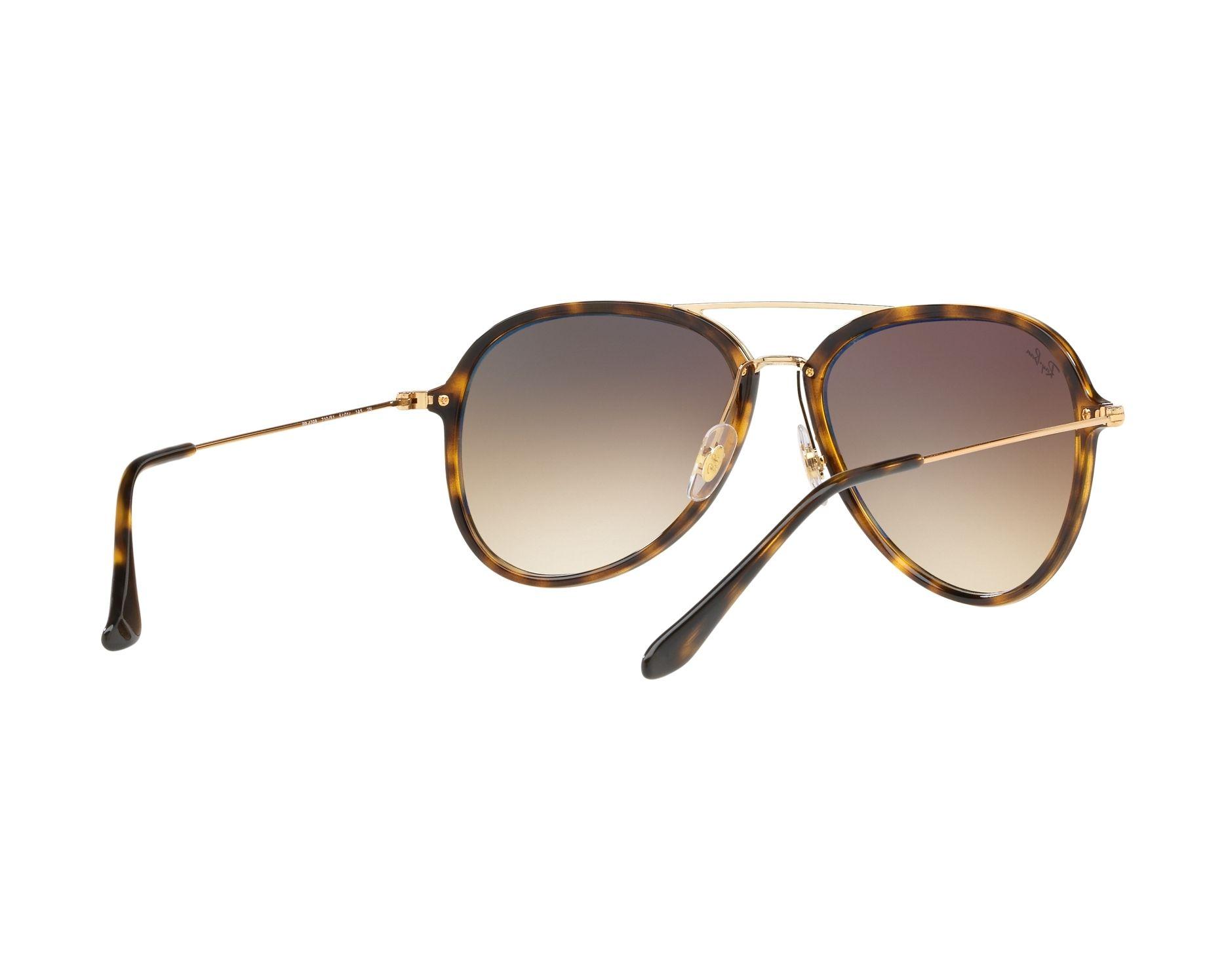 a677e92b968 Sunglasses Ray-Ban RB-4298 710 51 57-17 Havana Gold 360