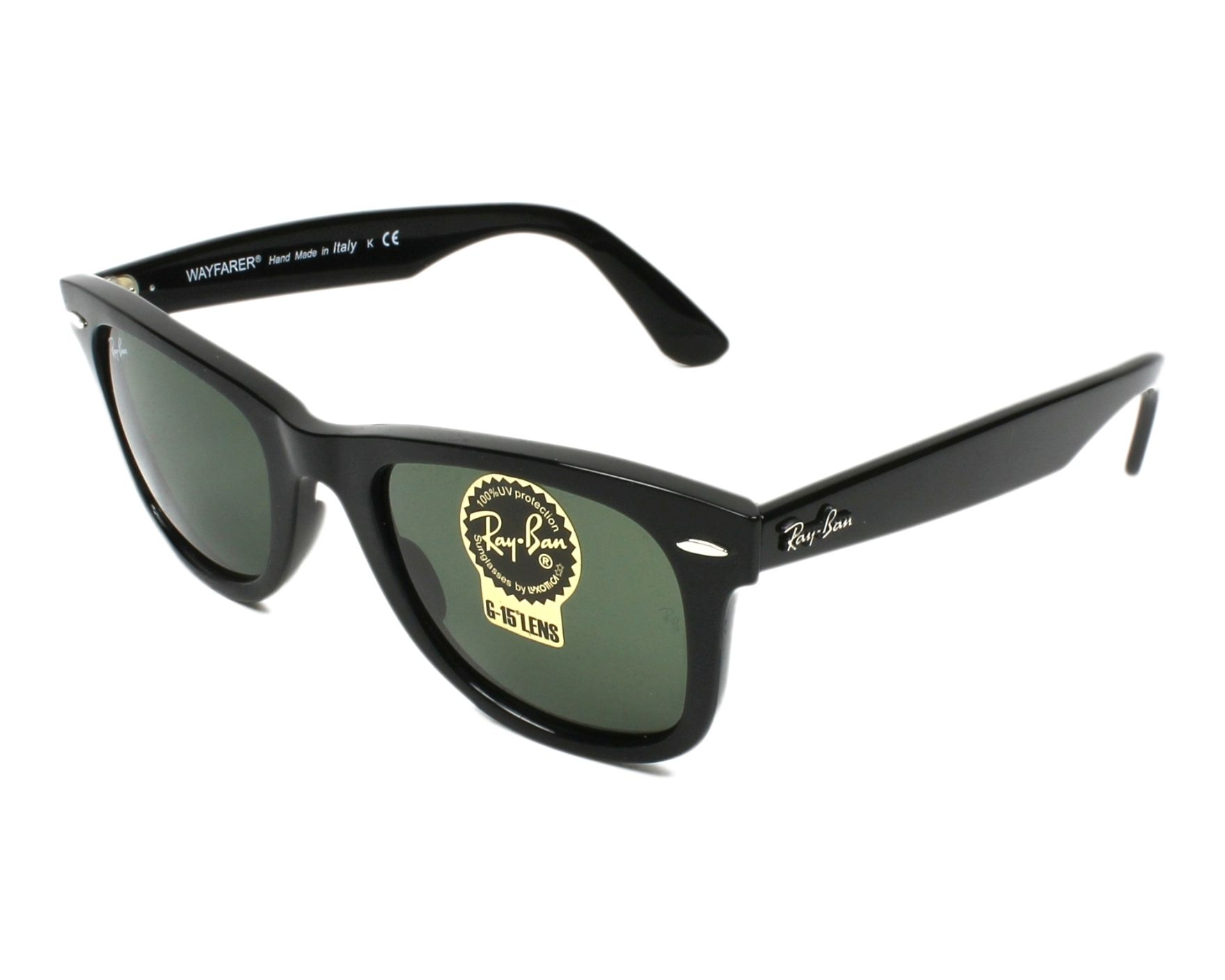 4a4a65654d Sunglasses Ray-Ban RB-4340 601 50-22 Black profile view