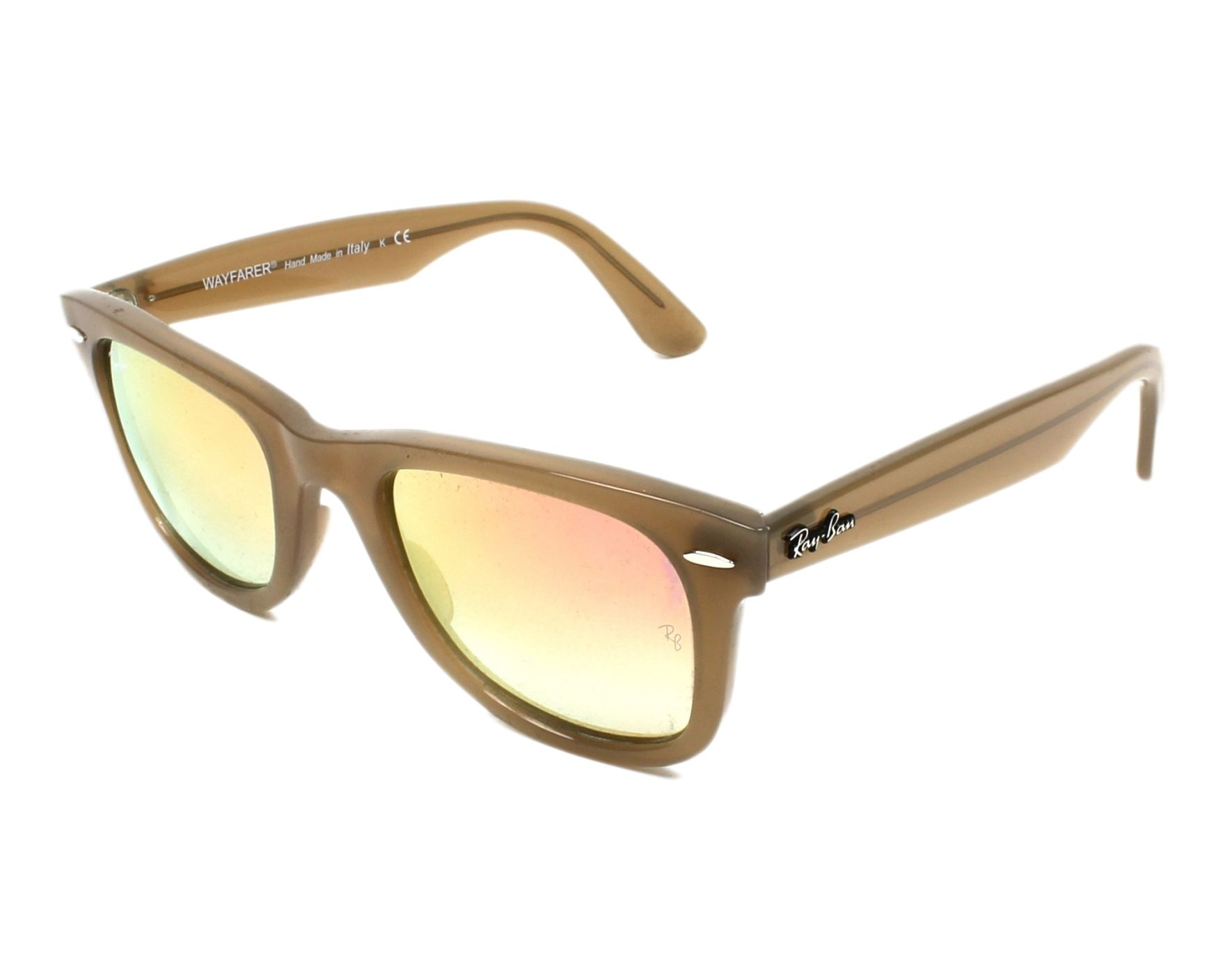 de5696b262 Sunglasses Ray-Ban RB-4340 61667Y 50-22 Beige profile view