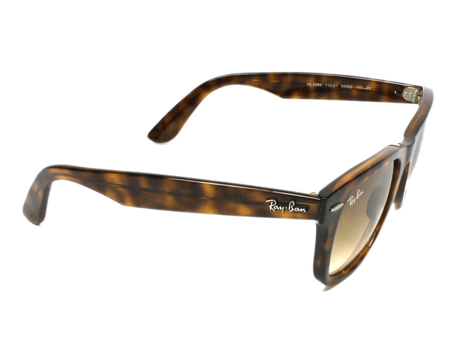 fc0446f518 Sunglasses Ray-Ban RB-4340 710 51 50-22 Havana side view
