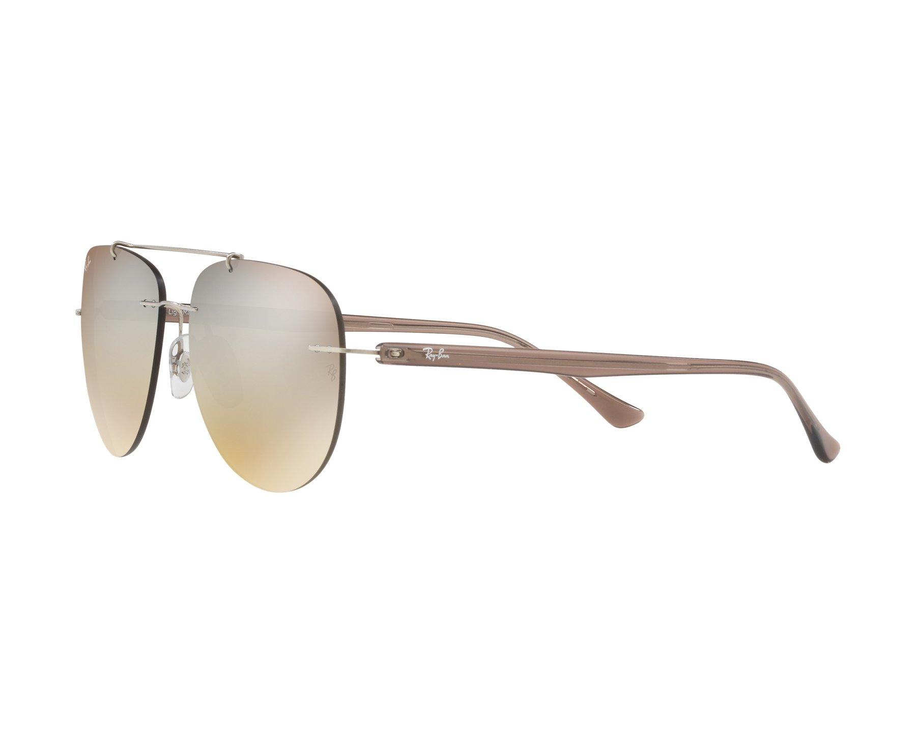 Sunglasses Ray-Ban RB-8059 003 B8 57-16 Gun Brown 360 4f2097be40b8