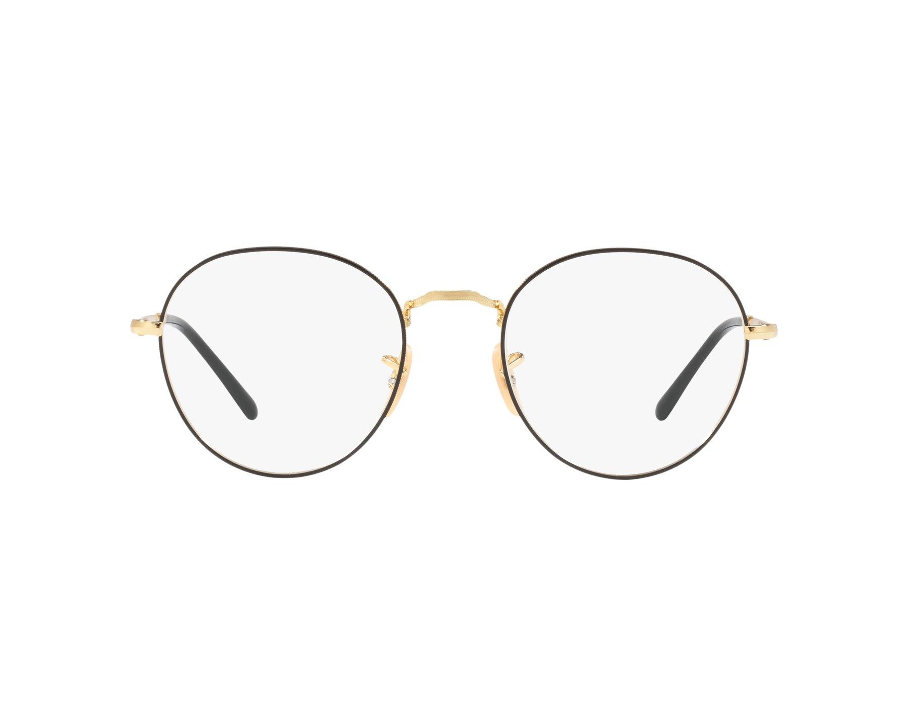 c0061a202f9 eyeglasses Ray-Ban RX-3582-V 2946 49-20 Black Gold 360