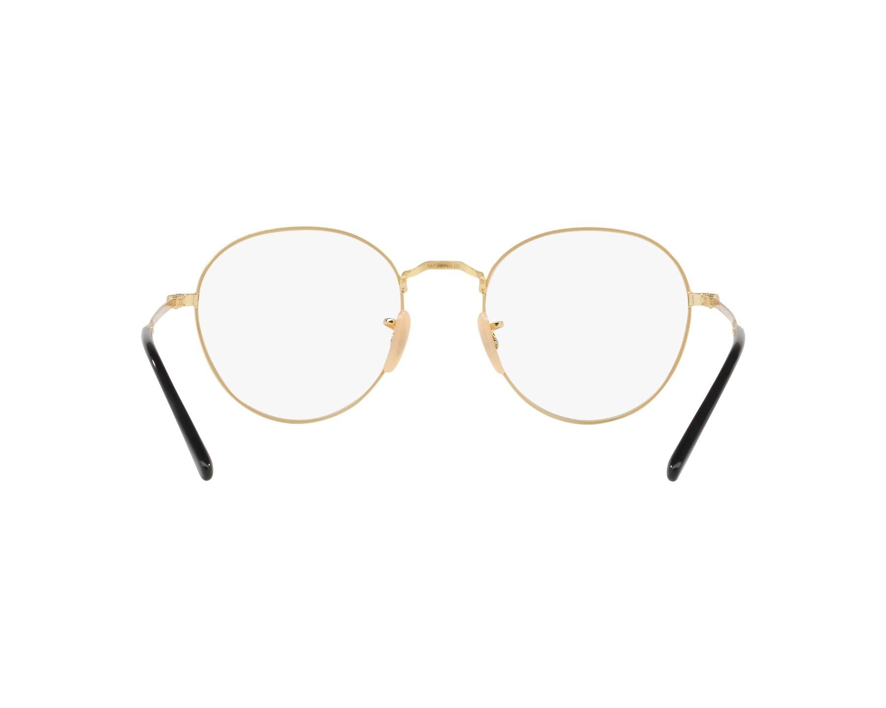 67cda21d62 eyeglasses Ray-Ban RX-3582-V 2946 49-20 Black Gold 360