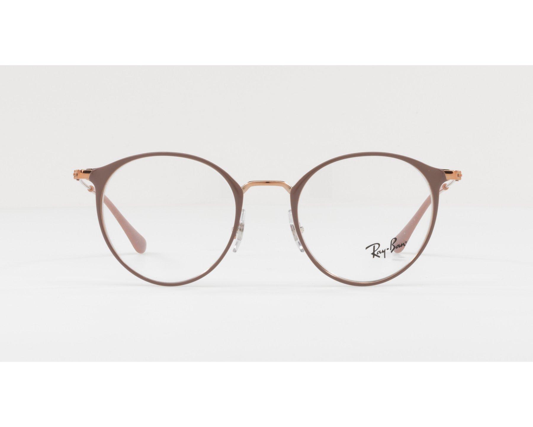 eyeglasses Ray-Ban RX-6378 2973 47-21 Ochre Copper 360 degree view 4078860ac2e8