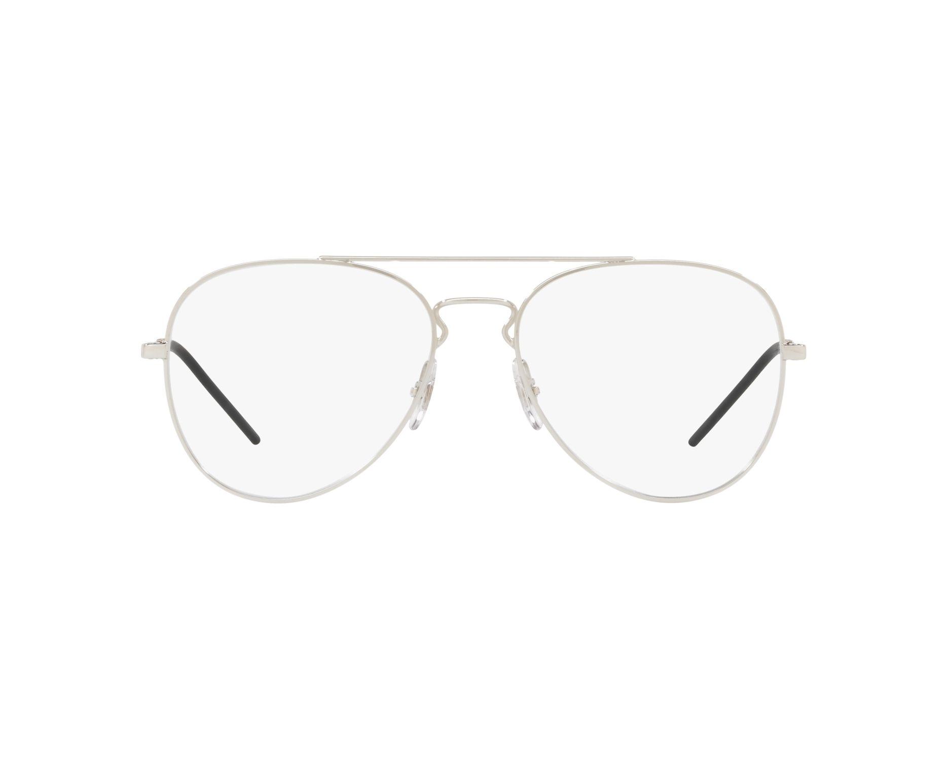 54fc11a38b2 eyeglasses Ray-Ban RX-6413 2501 54-17 Silver 360 degree view 1