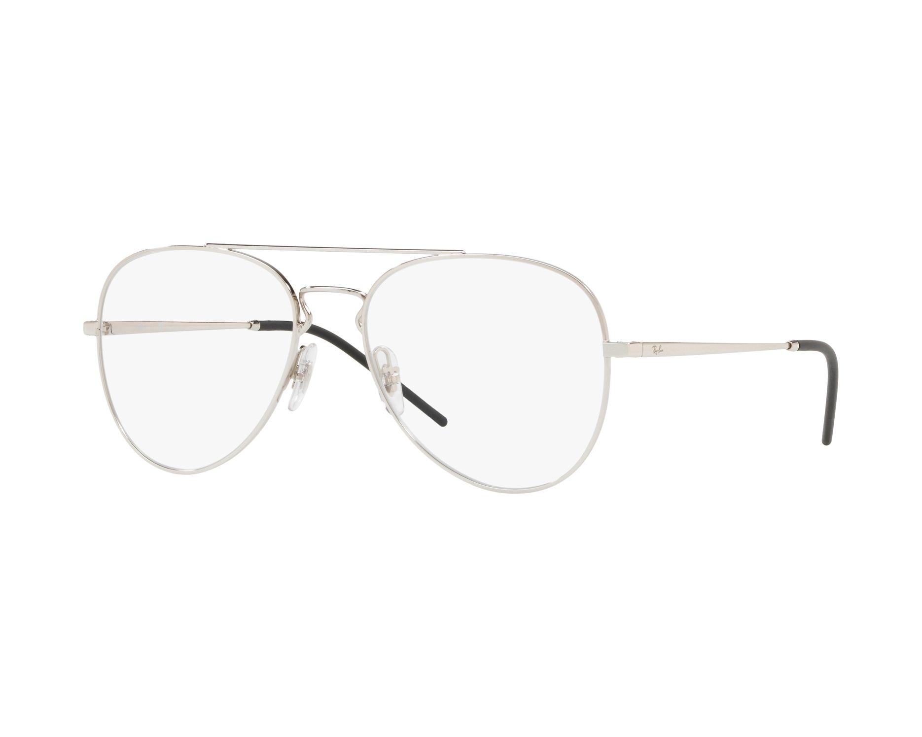75030bb608f eyeglasses Ray-Ban RX-6413 2501 54-17 Silver