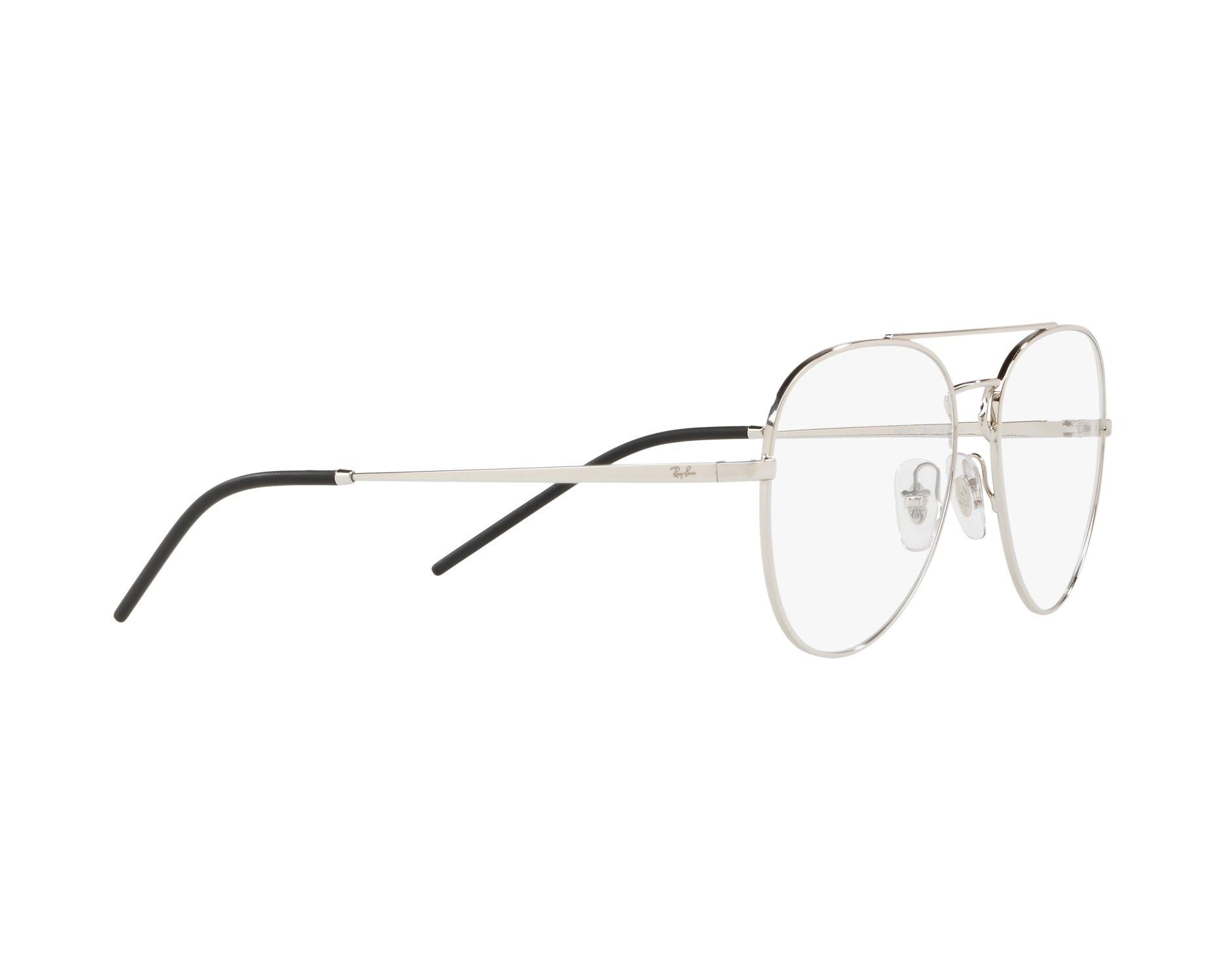 1e1c8f4eb8b eyeglasses Ray-Ban RX-6413 2501 54-17 Silver 360 degree view 11