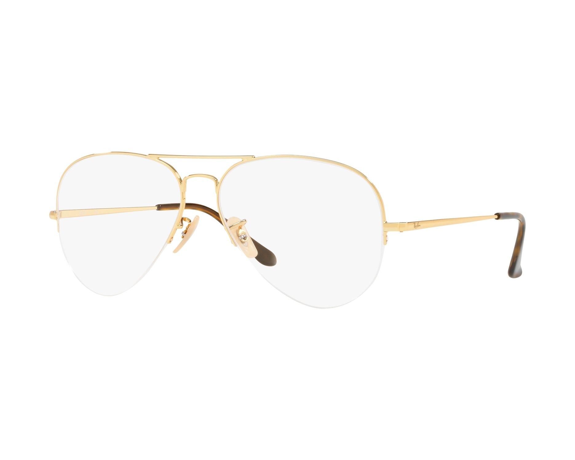 e03d2c0e59269 eyeglasses Ray-Ban RX-6589 2500 56-15 Gold