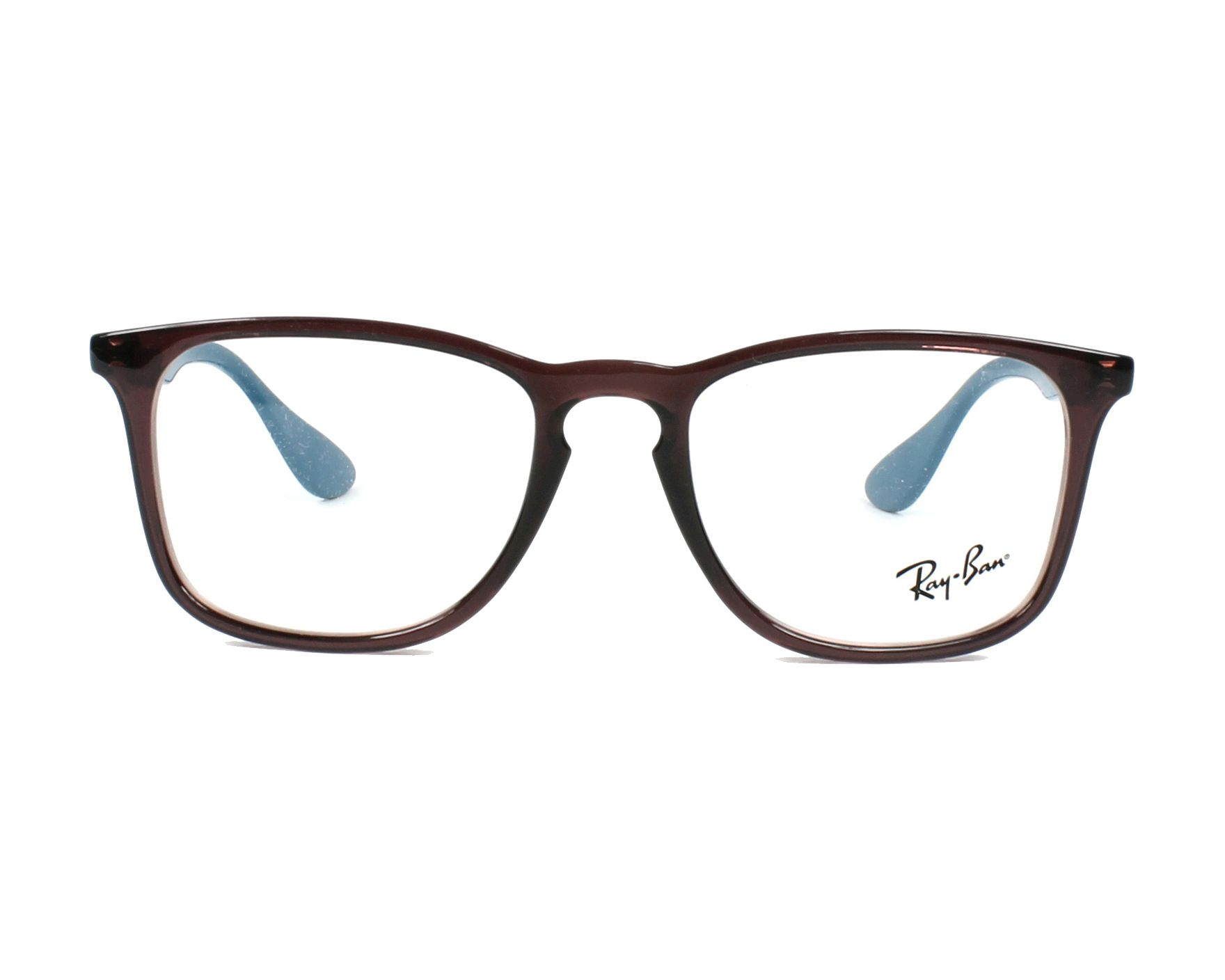 6859771108e eyeglasses Ray-Ban RX-7074 5735 50-18 Purple Turquoise front view