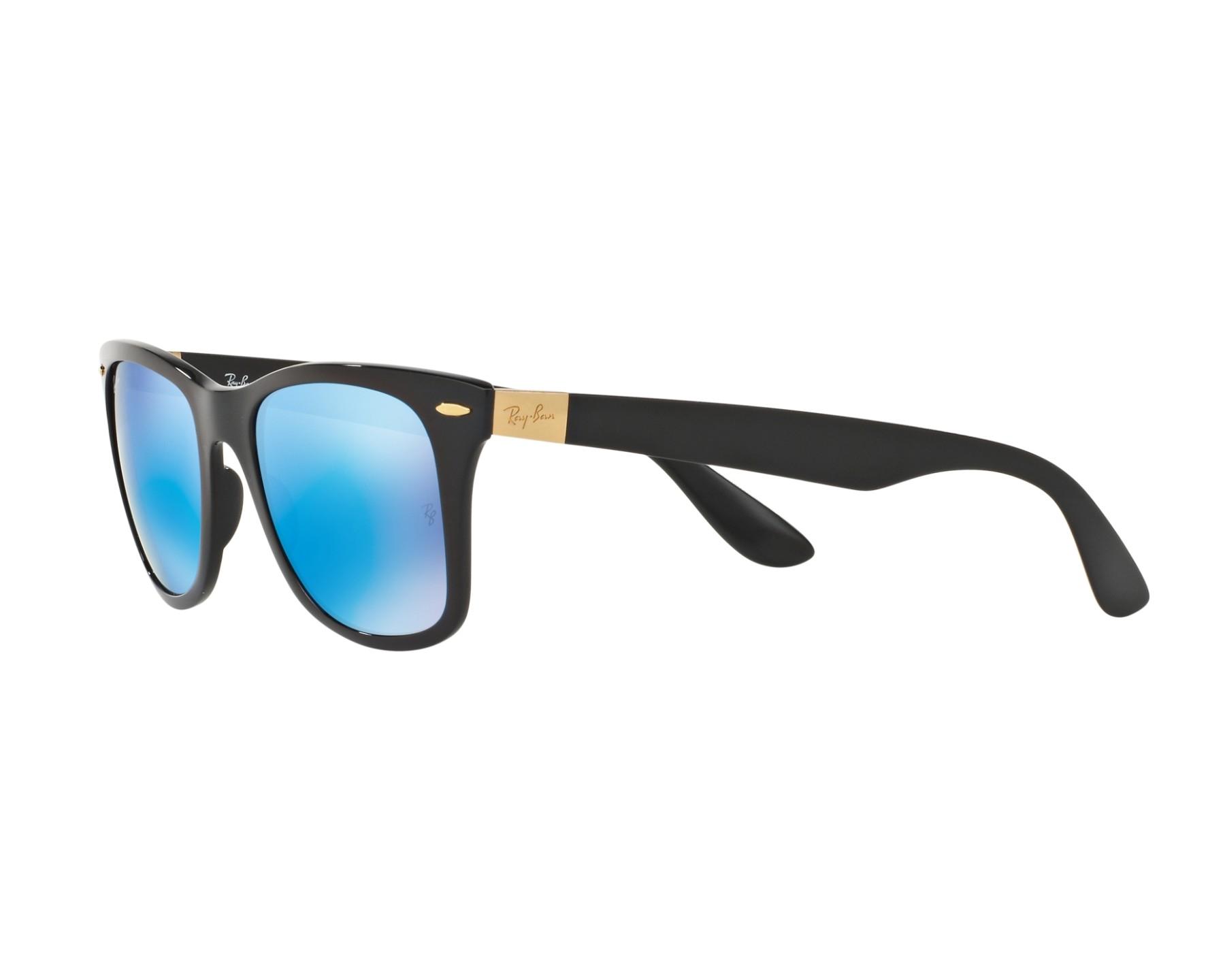 20593f42097 Sunglasses Ray-Ban RB-4195 631855 52-20 Black 360 degree view 3
