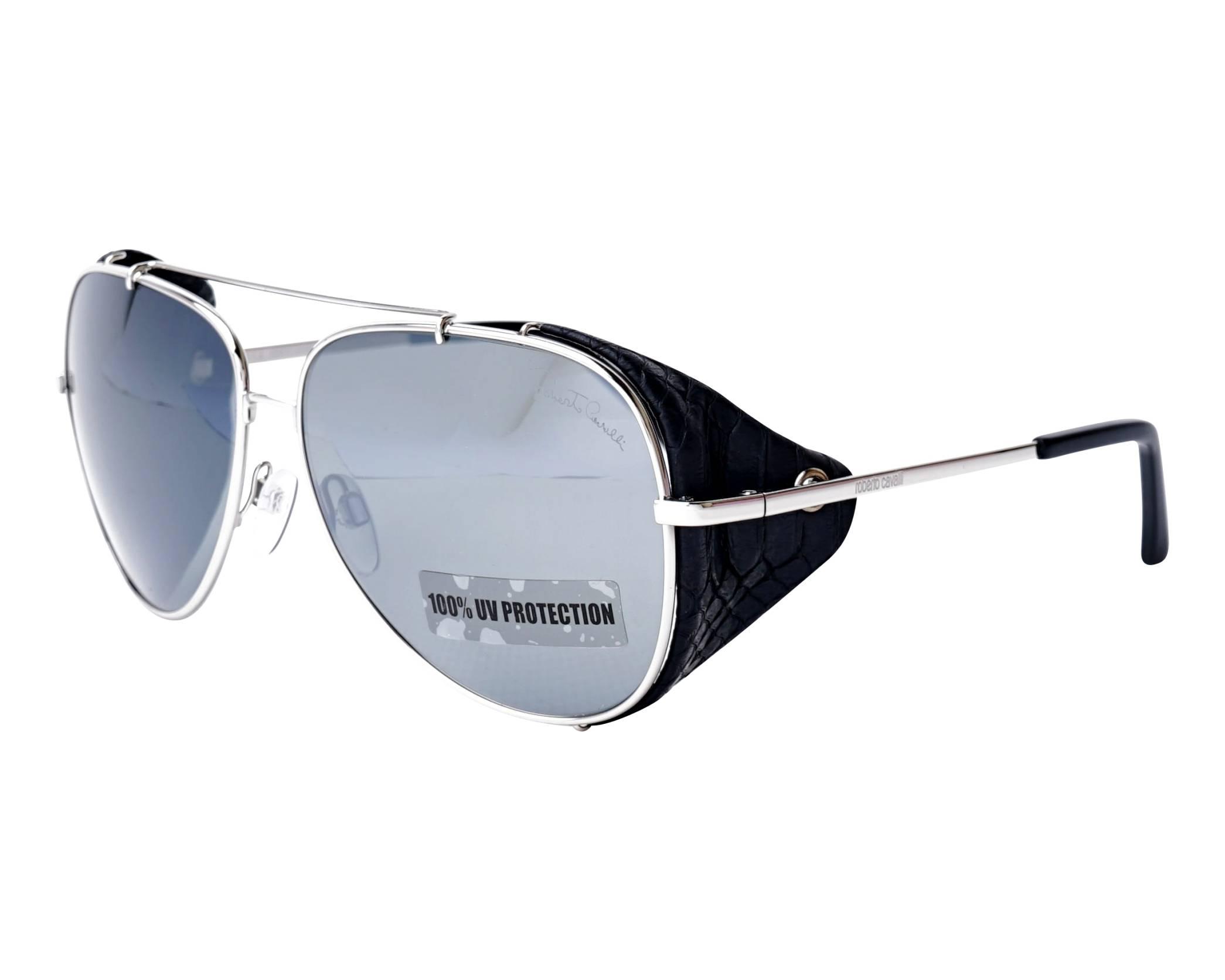 022cfbbdc8aec Sunglasses Roberto Cavalli RC-856-S 16C 60-13 Silver profile view