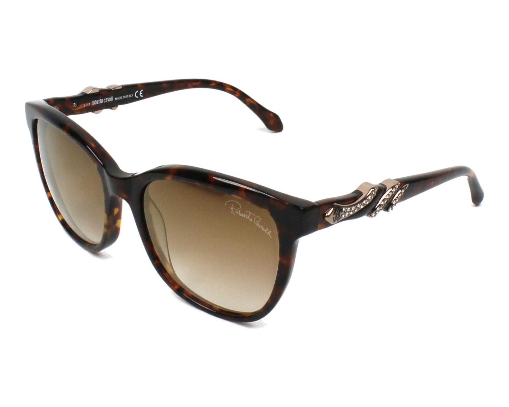 Roberto Cavalli Sunglasses Havana with Brown Lenses RC ...