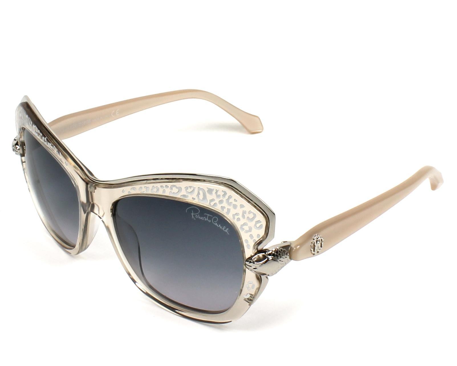 Roberto Cavalli Sunglasses Crystal with Blue Grey Lenses RC-981S 80B ...