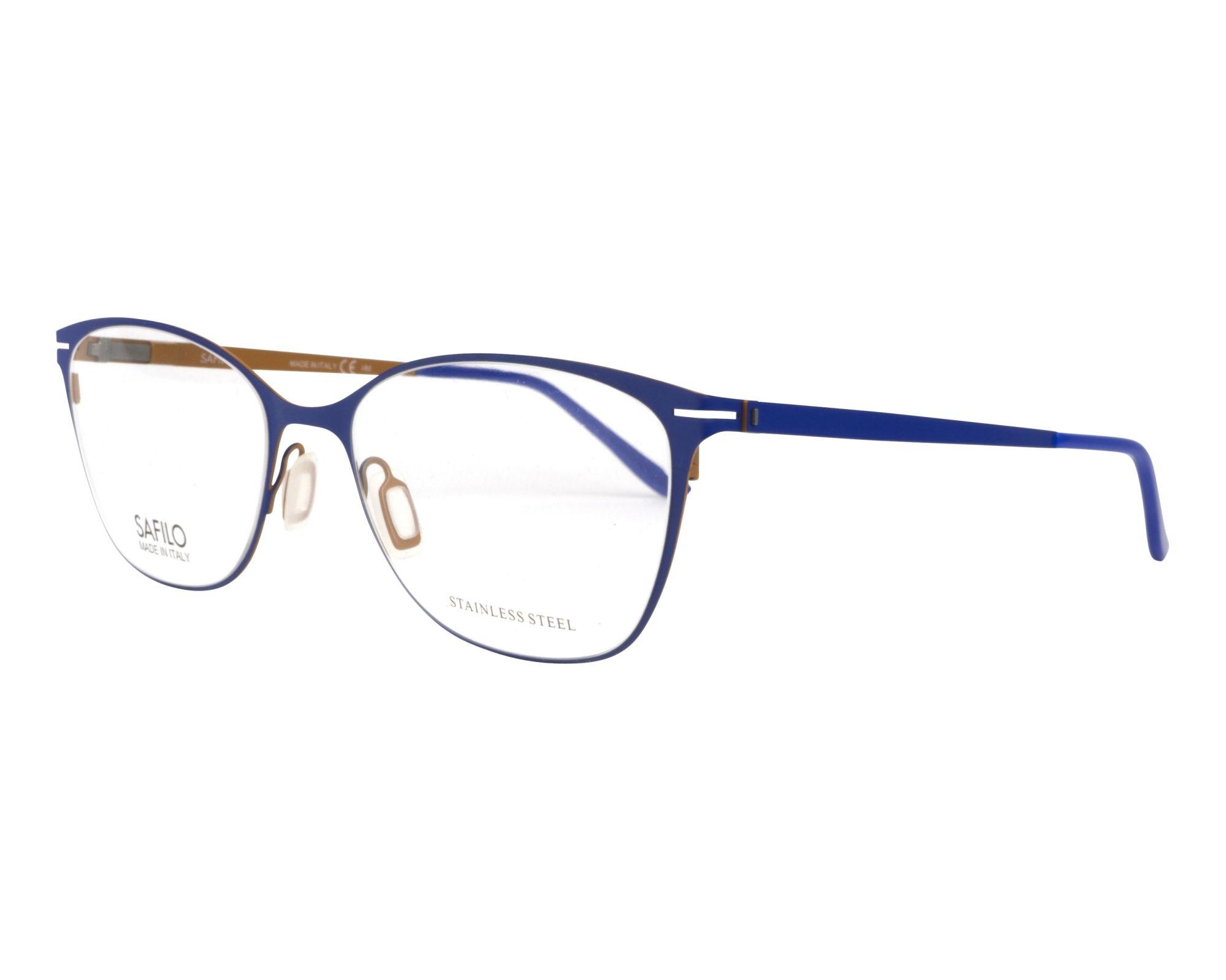 Safilo Eyeglasses Blue SA-6050 11E - Visionet US