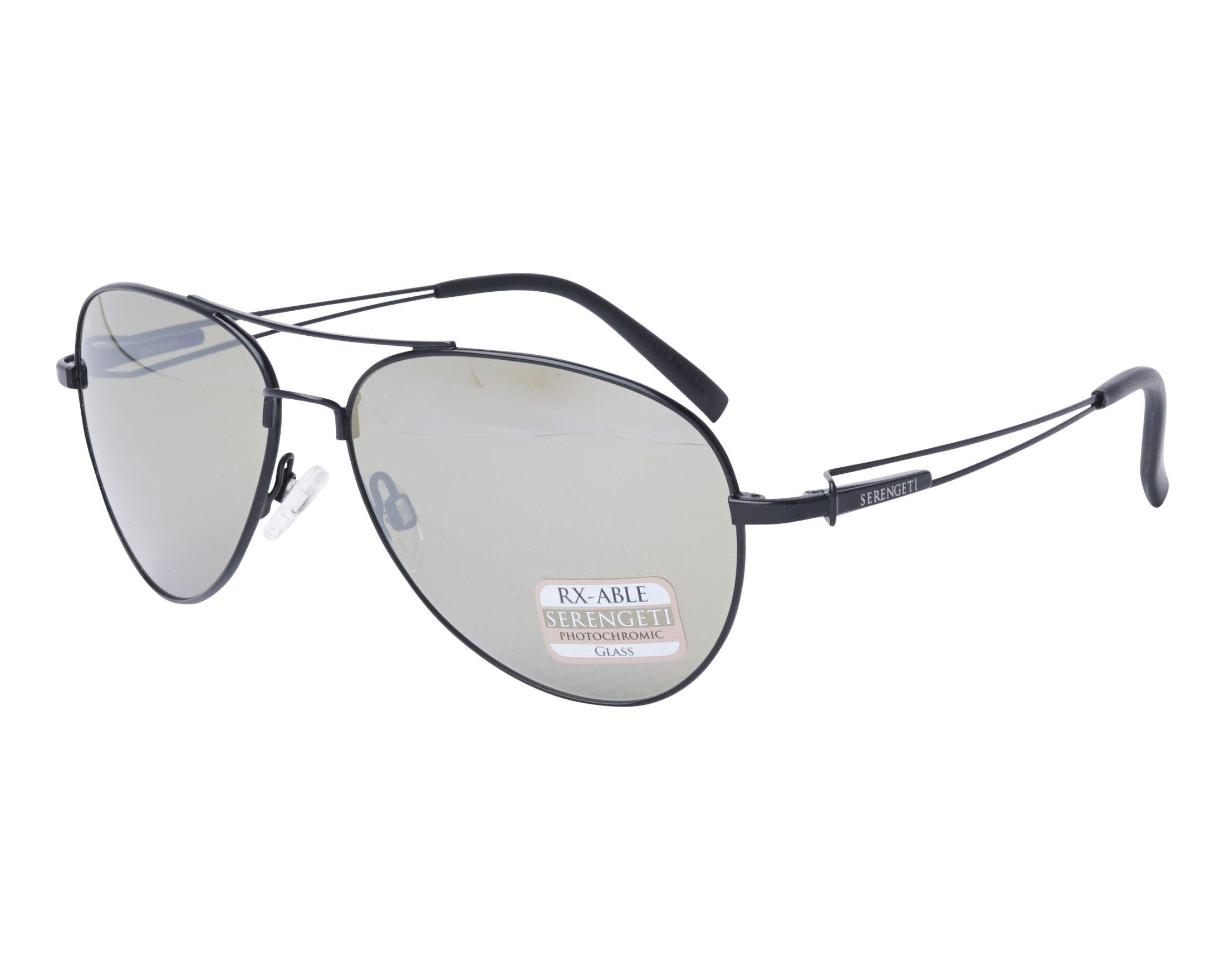 ec1f41b598 Sunglasses Serengeti 7886 PEI 55-13 Black profile view