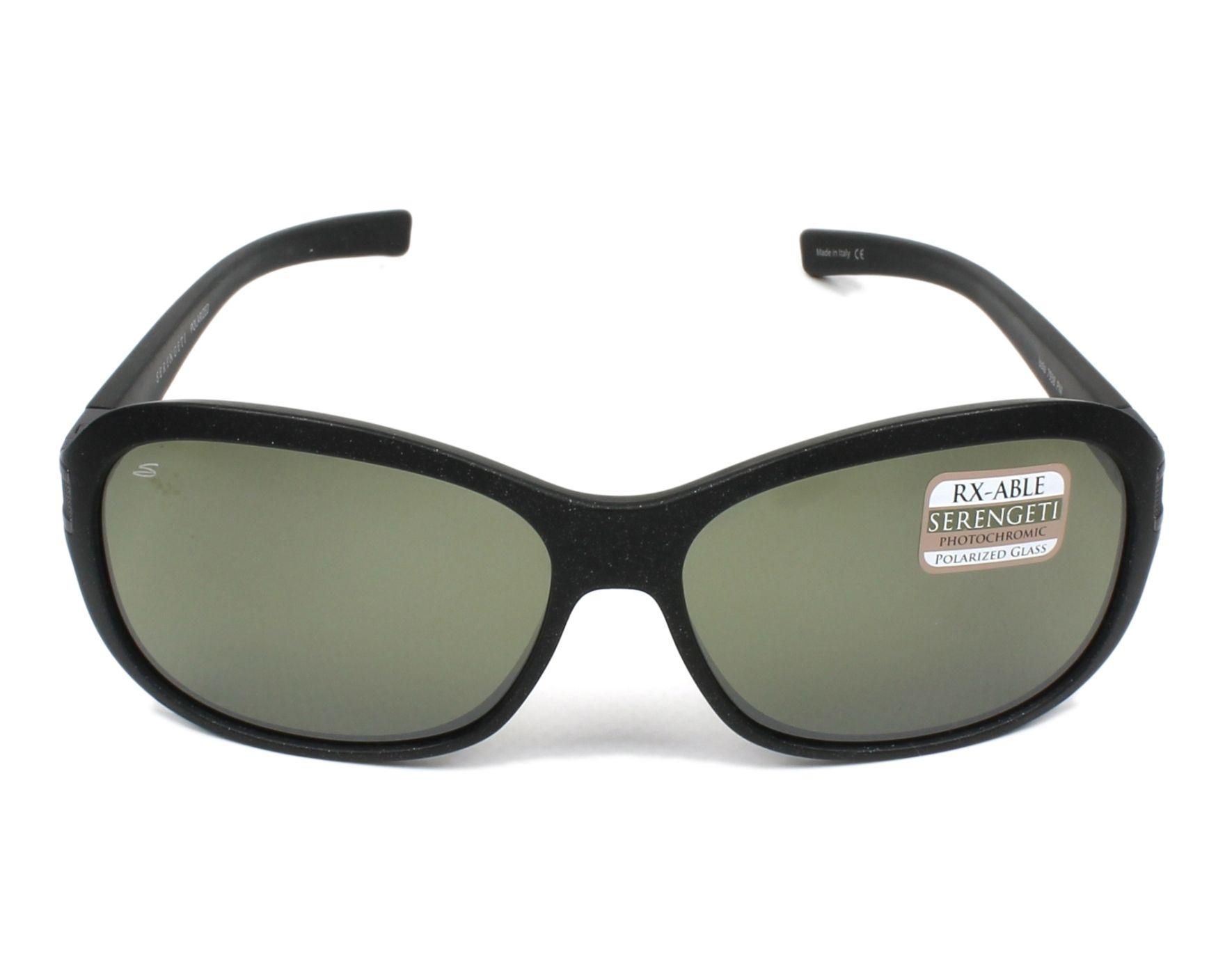 b0c6d7b0d92 Sunglasses Serengeti ISOLA 7938 60-12 Black Gun front view