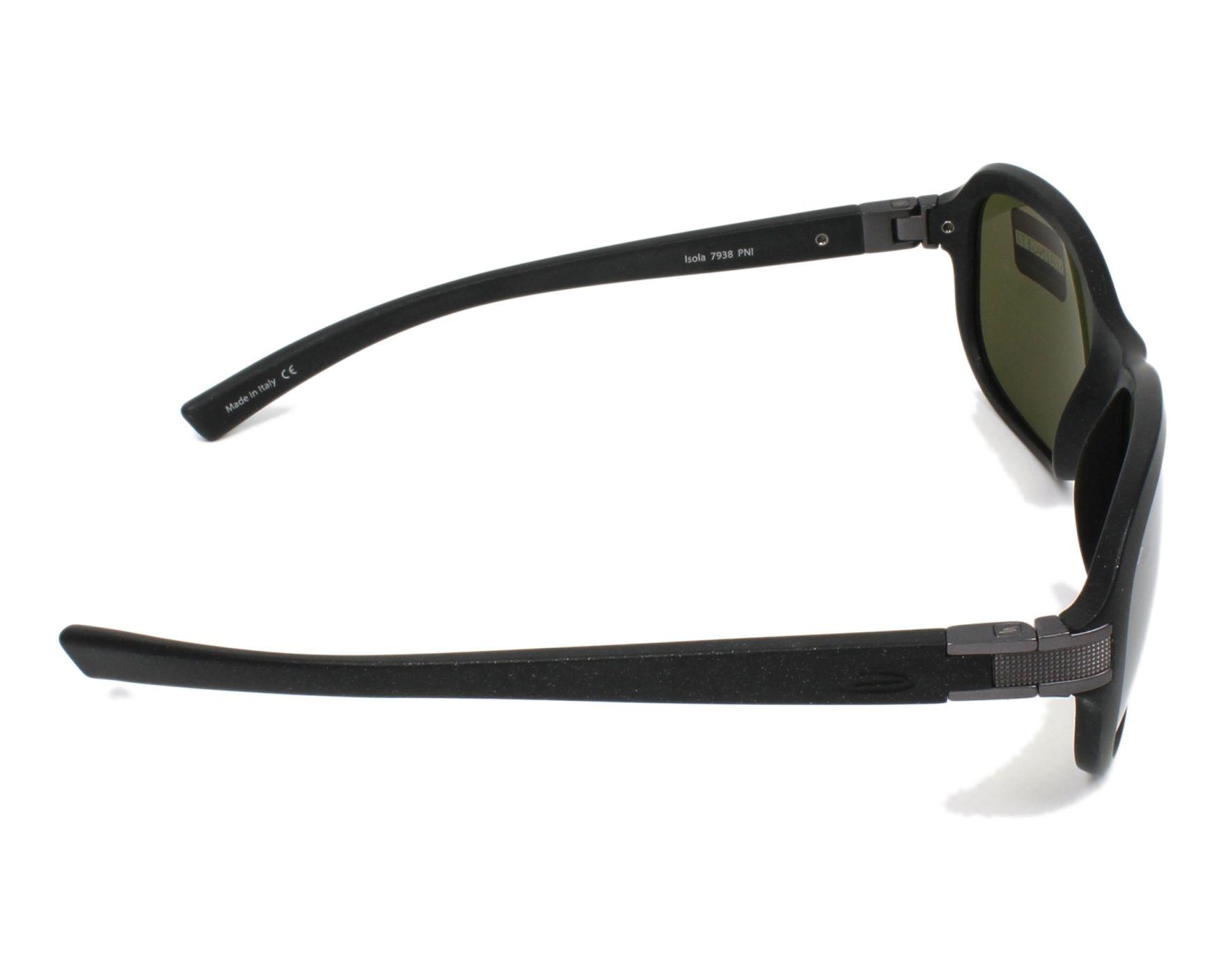 677b2d24cbd Sunglasses Serengeti ISOLA 7938 60-12 Black Gun side view