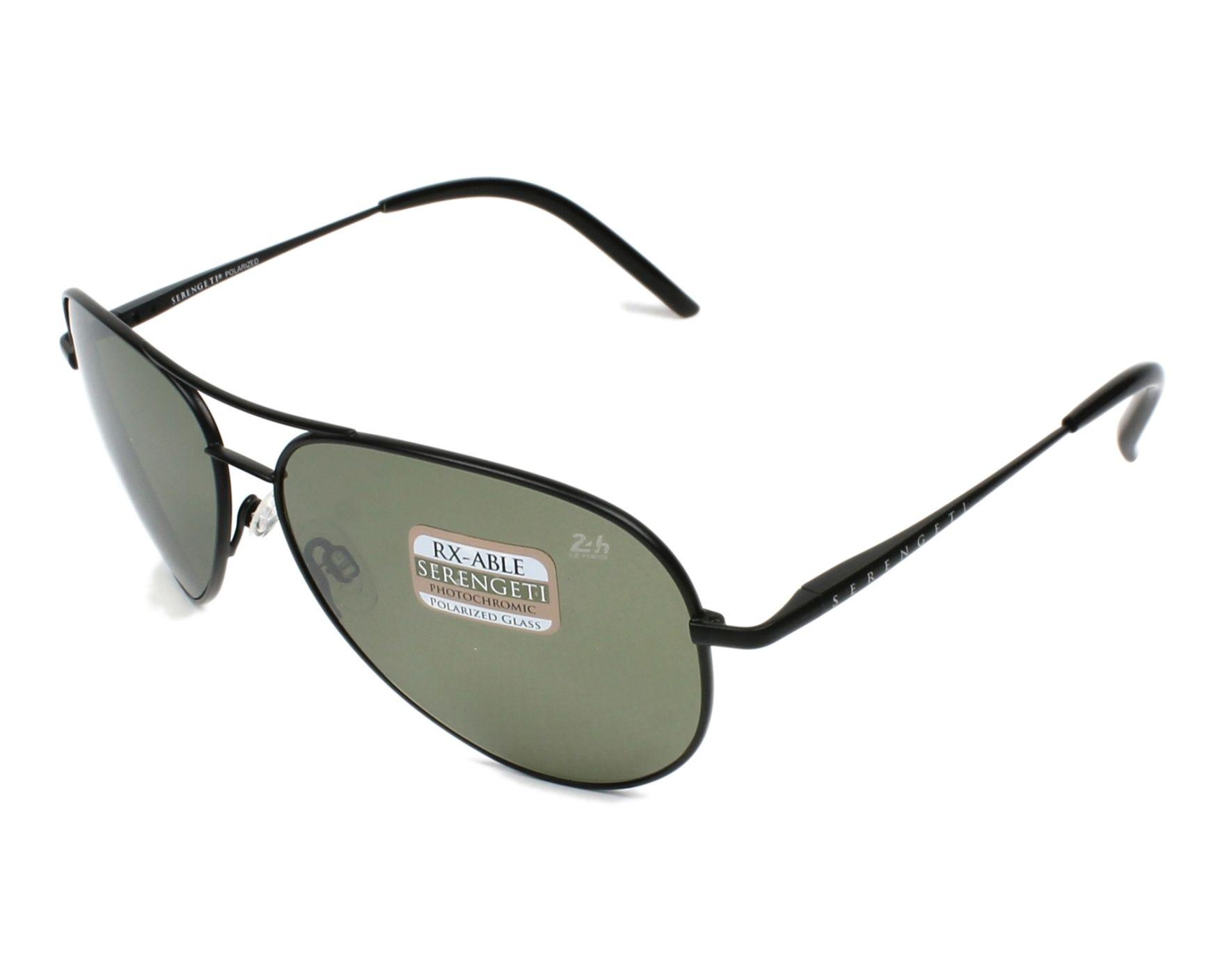 Sunglasses Serengeti PANAREA 8485 60-15 Black profile view