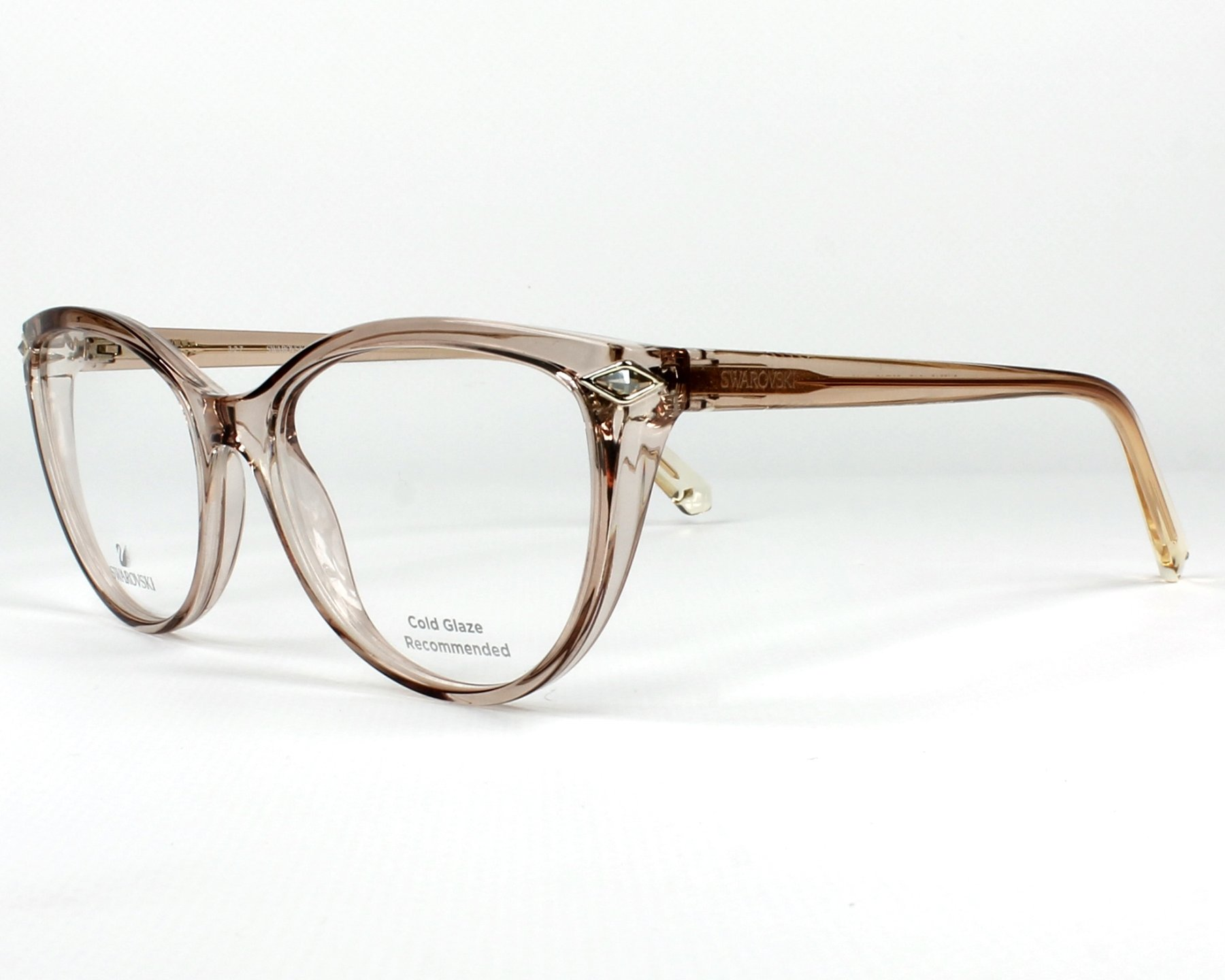 Swarovski Eyeglasses SK-5245 045 Crystal | visio-net.com