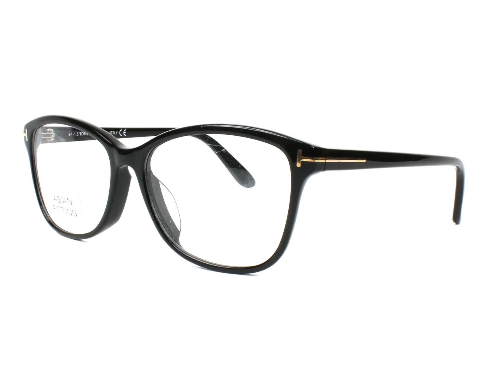 7437e64213202 eyeglasses Tom Ford TF-5404 001 - Black profile view