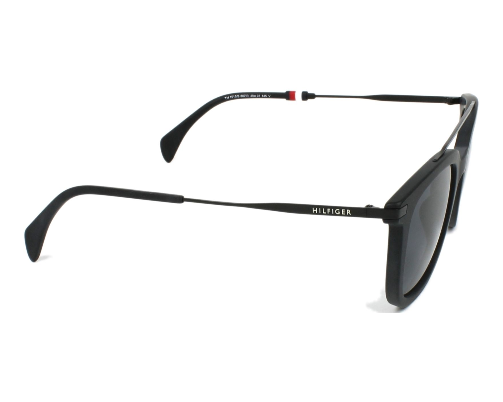 Tommy Hilfiger TH 1515/S 807 49-22 in black godQy