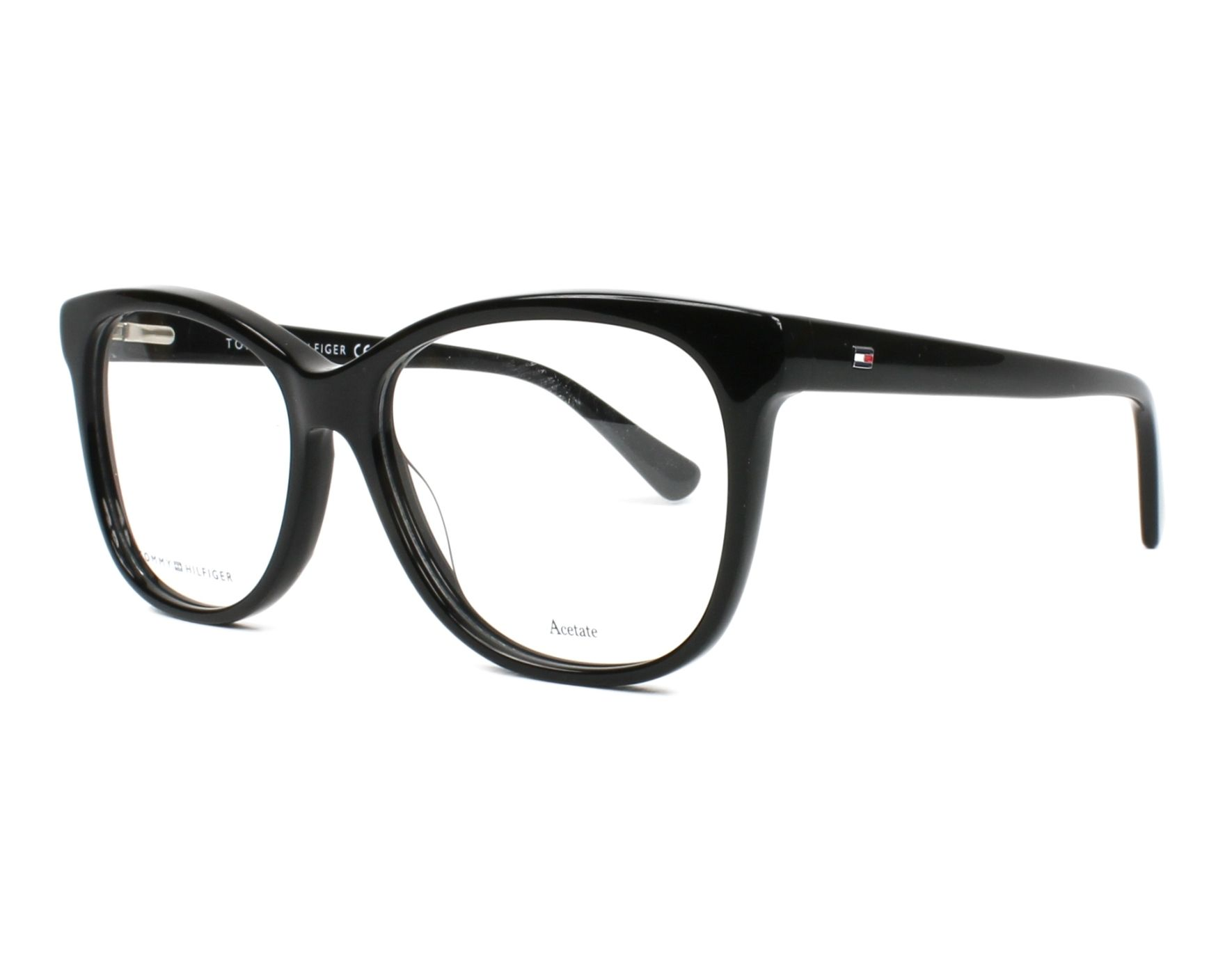 eyeglasses Tommy Hilfiger TH-1530 807 53-15 Black profile view
