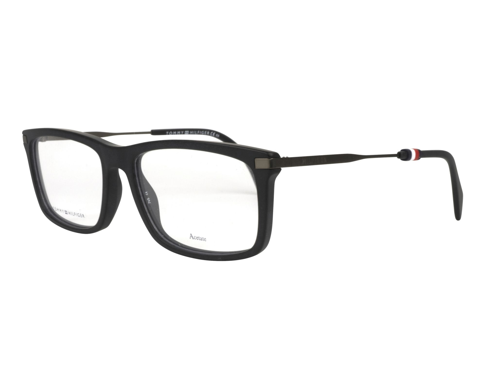 eyeglasses Tommy Hilfiger TH-1538 003 55-17 Black Gun profile view
