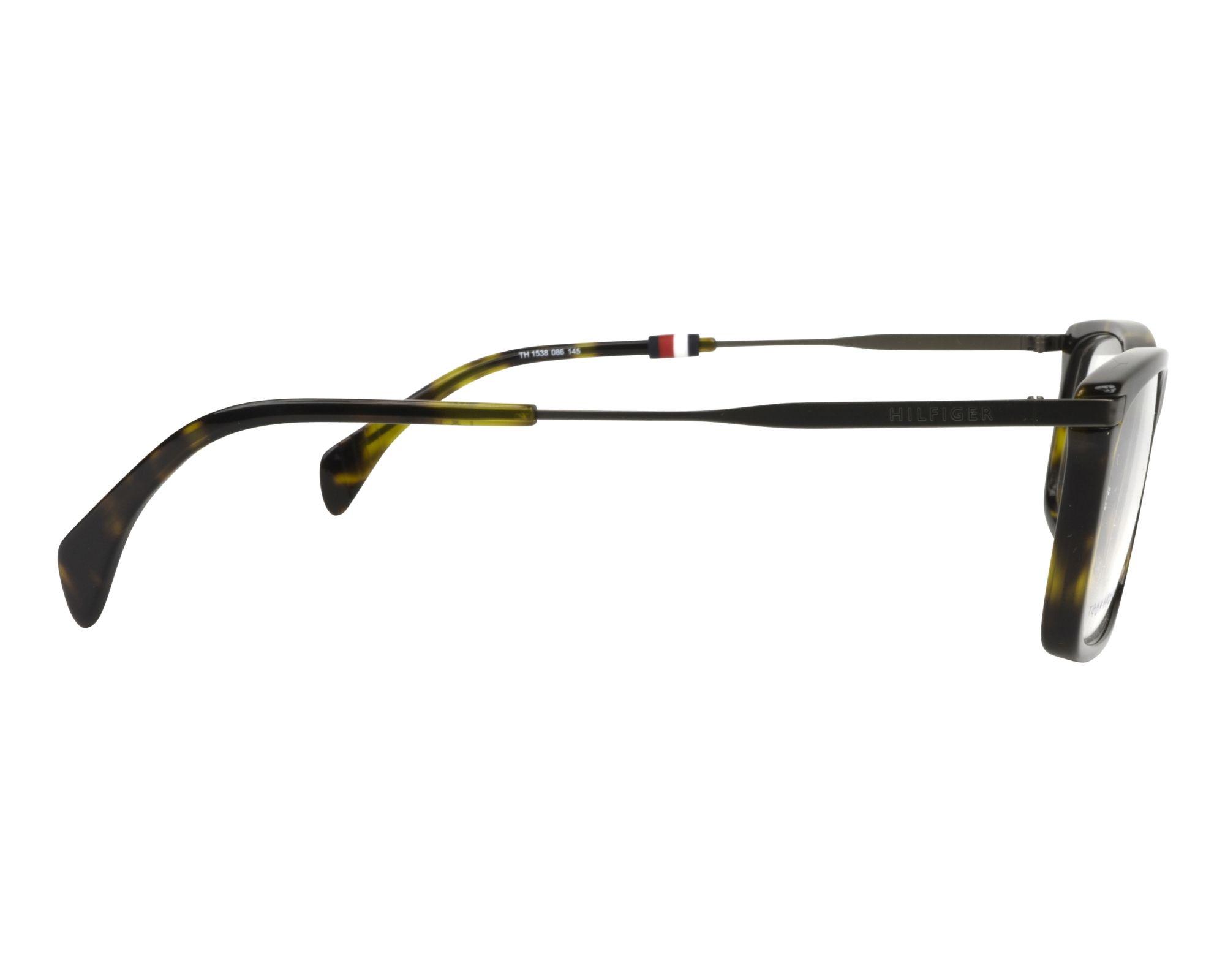 2b5f1e2354 eyeglasses Tommy Hilfiger TH-1538 086 55-17 Havana Gun side view