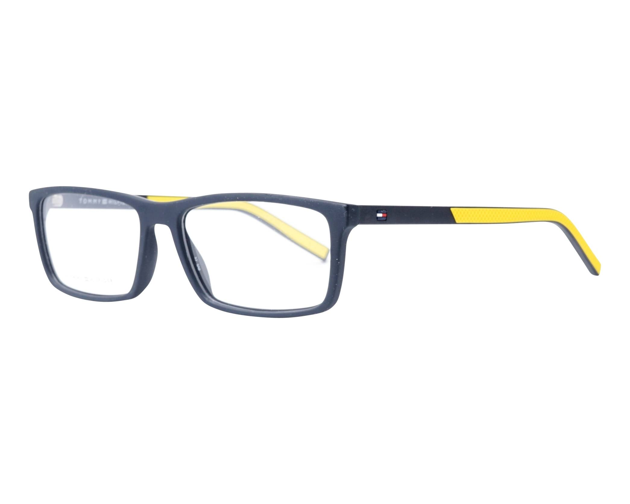 b86ce637e32 eyeglasses Tommy Hilfiger TH-1591 003 55-16 Black Yellow profile view