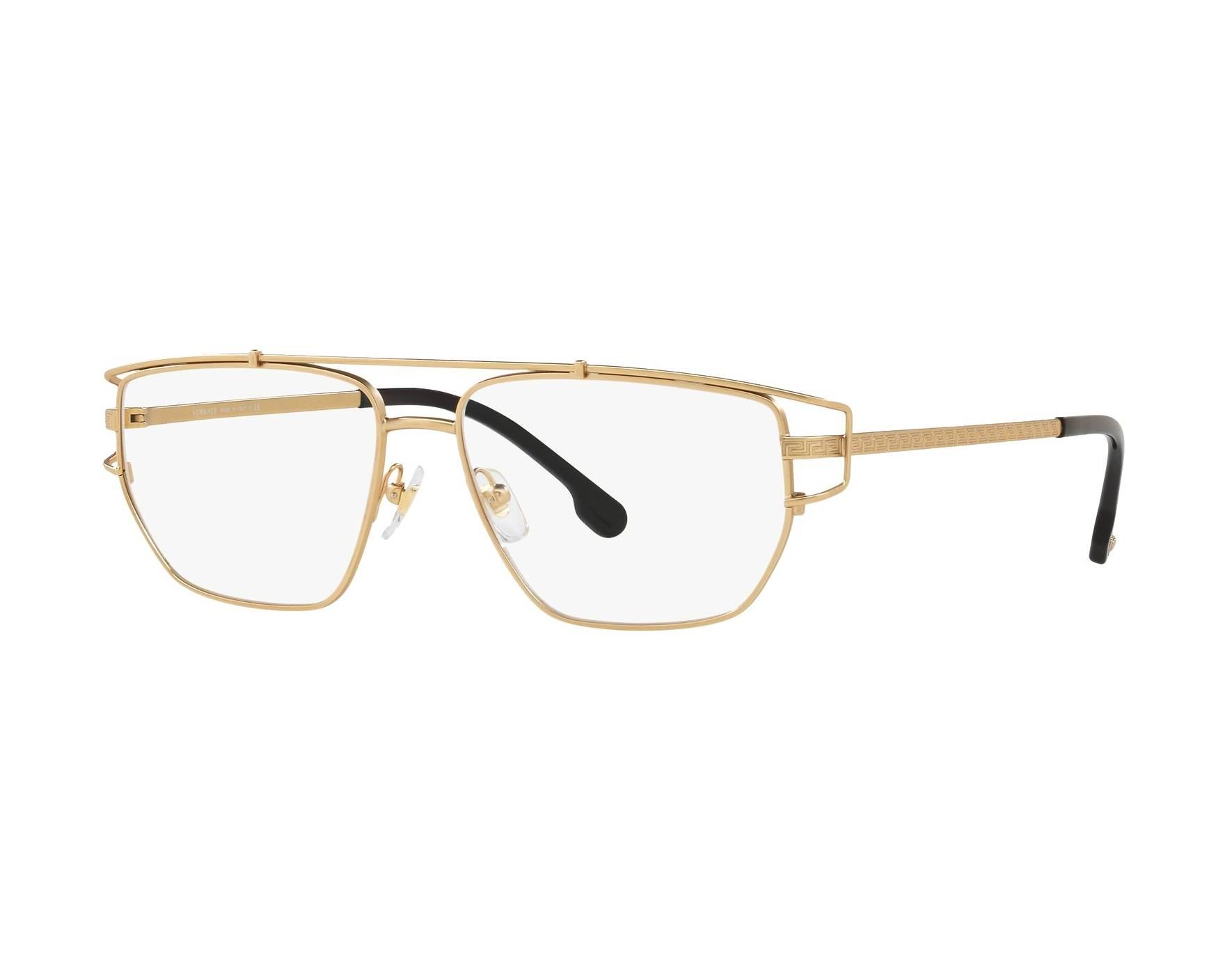 2c175a5faed eyeglasses Versace VE-1257 1410 55-15 Gold