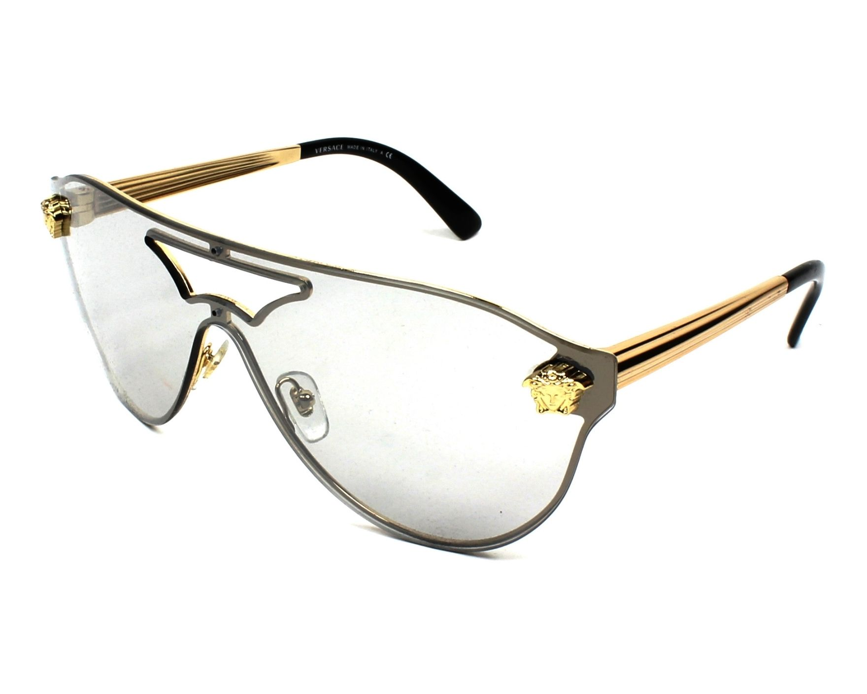 Sunglasses Versace VE-2161 1002/6G 99- Gold profile view