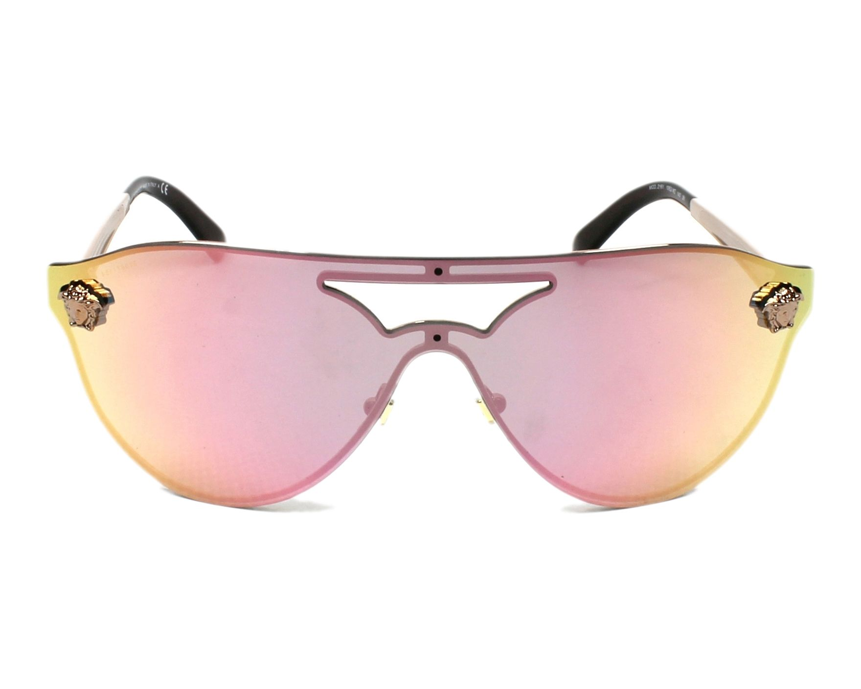 Sunglasses Versace VE-2161 1052/4Z 99- Gold front view