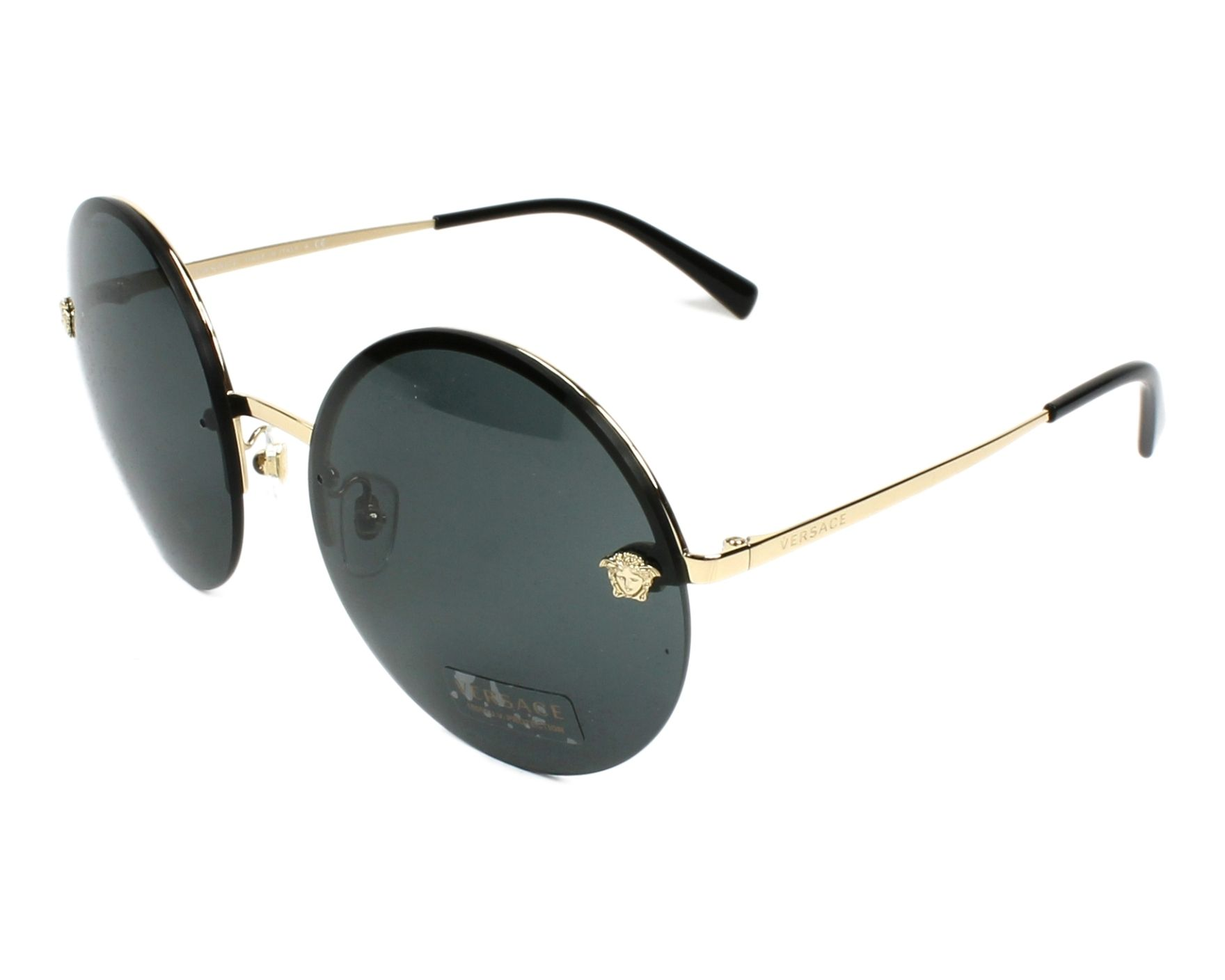 Sunglasses Versace VE-2176 125287 59-18 Gold profile view