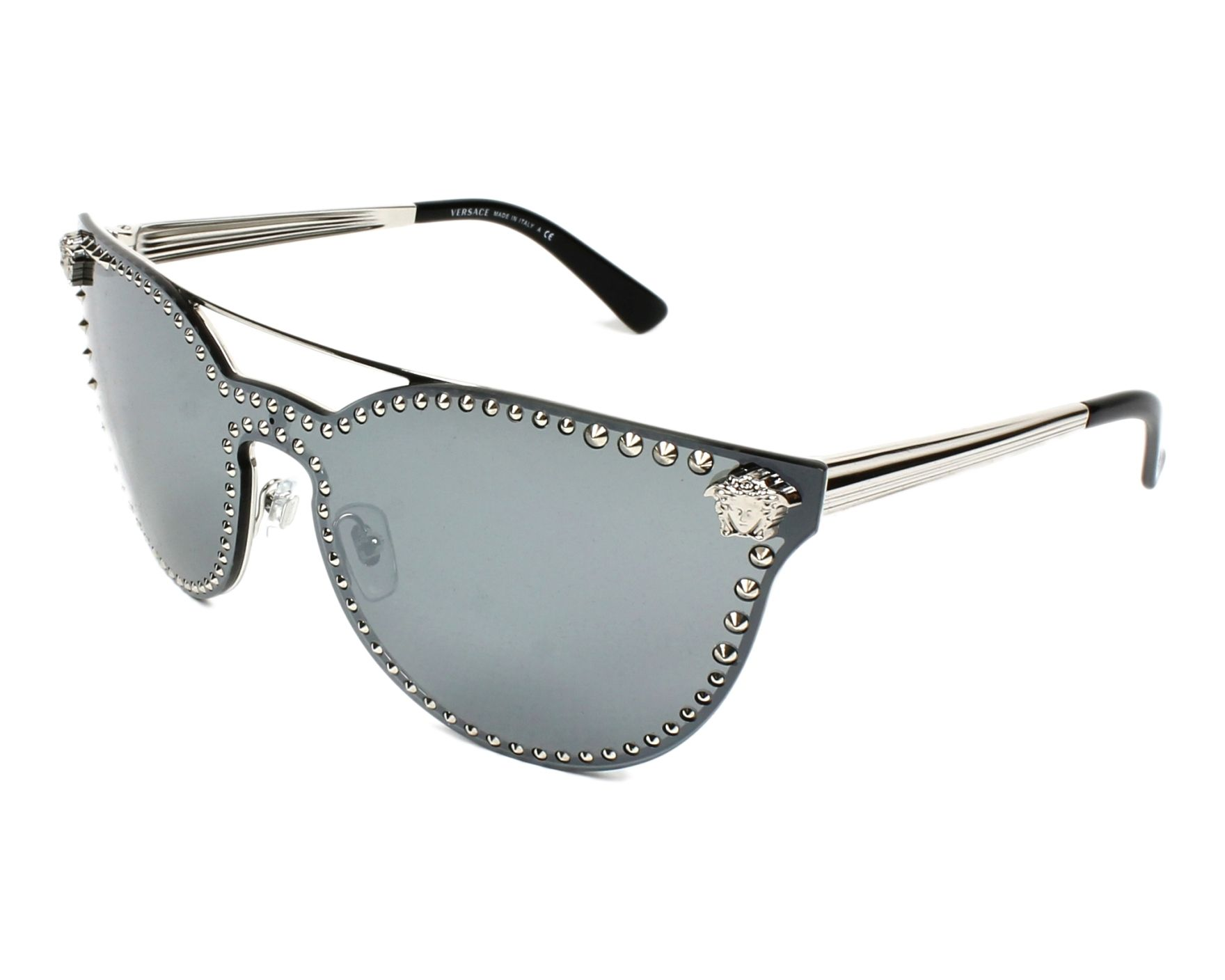 Sunglasses Versace VE-2177 10006G 58-16 Silver profile view
