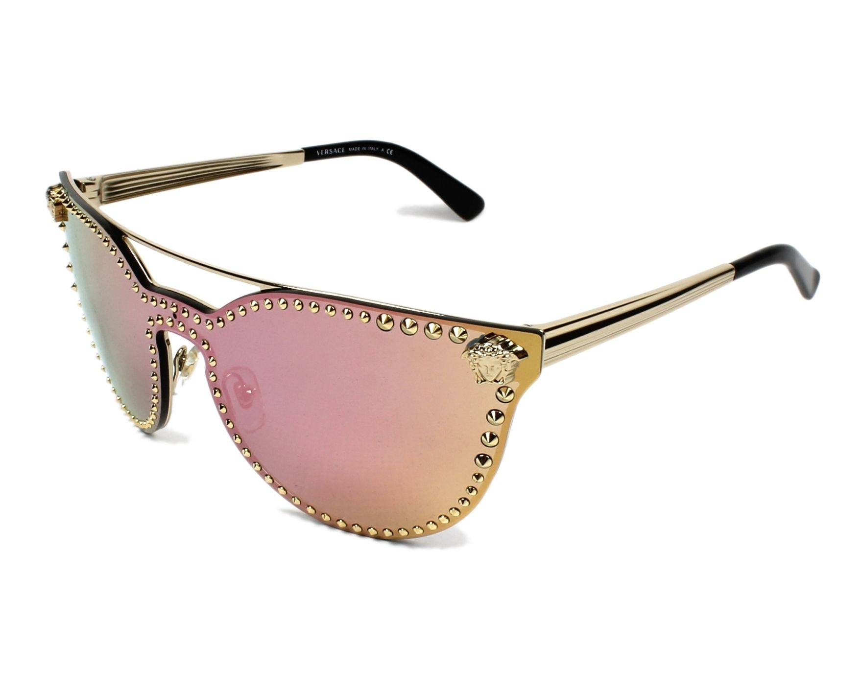 c94dc9d0c80be Sunglasses Versace VE-2177 12524Z - Gold profile view