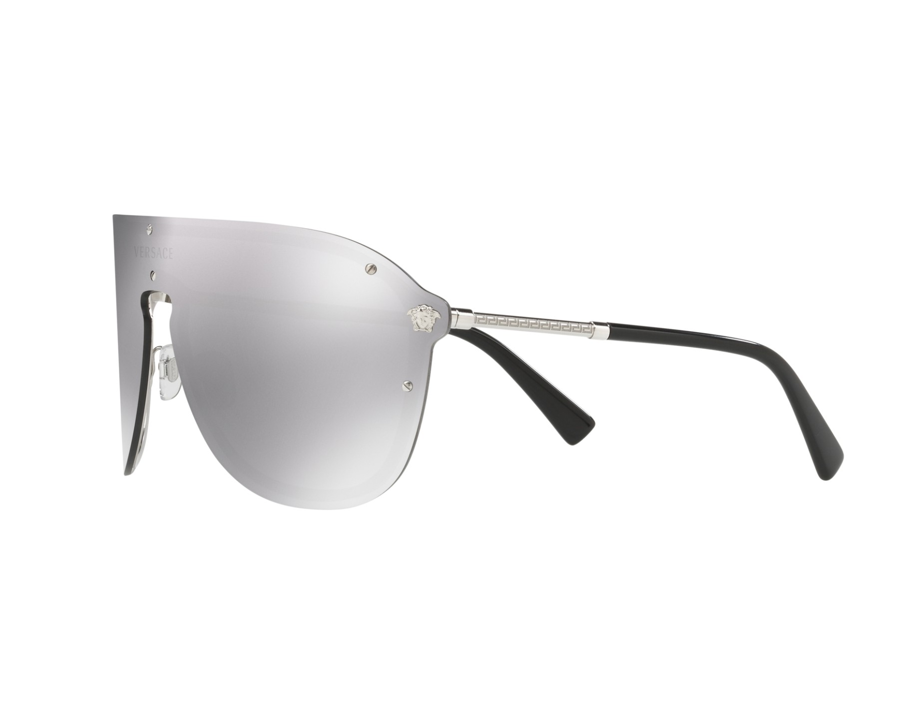 8434cff734 Sunglasses Versace VE-2180 10006G 44- Silver 360 degree view 3
