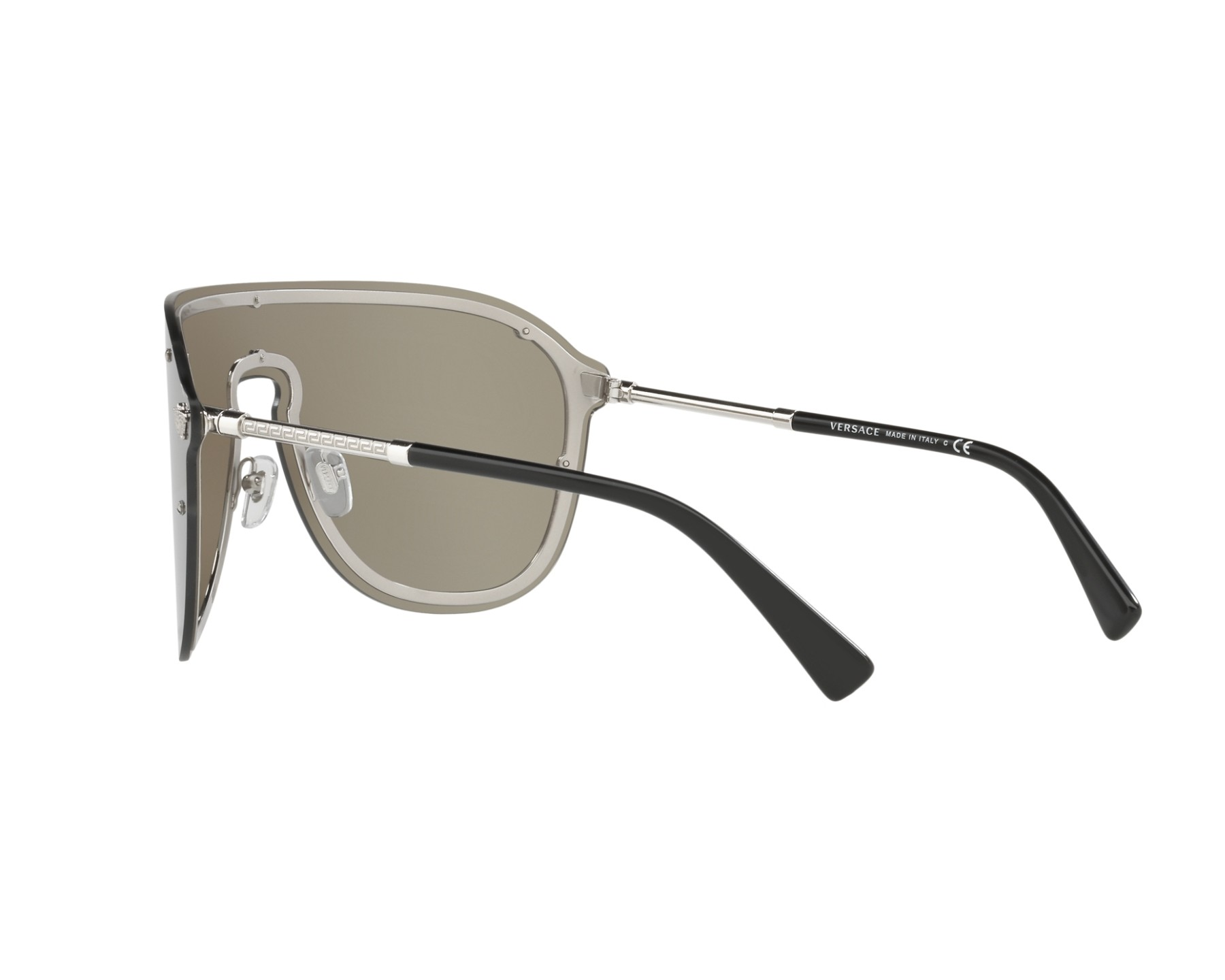 05d38f55a2 Sunglasses Versace VE-2180 10006G 44- Silver 360 degree view 5
