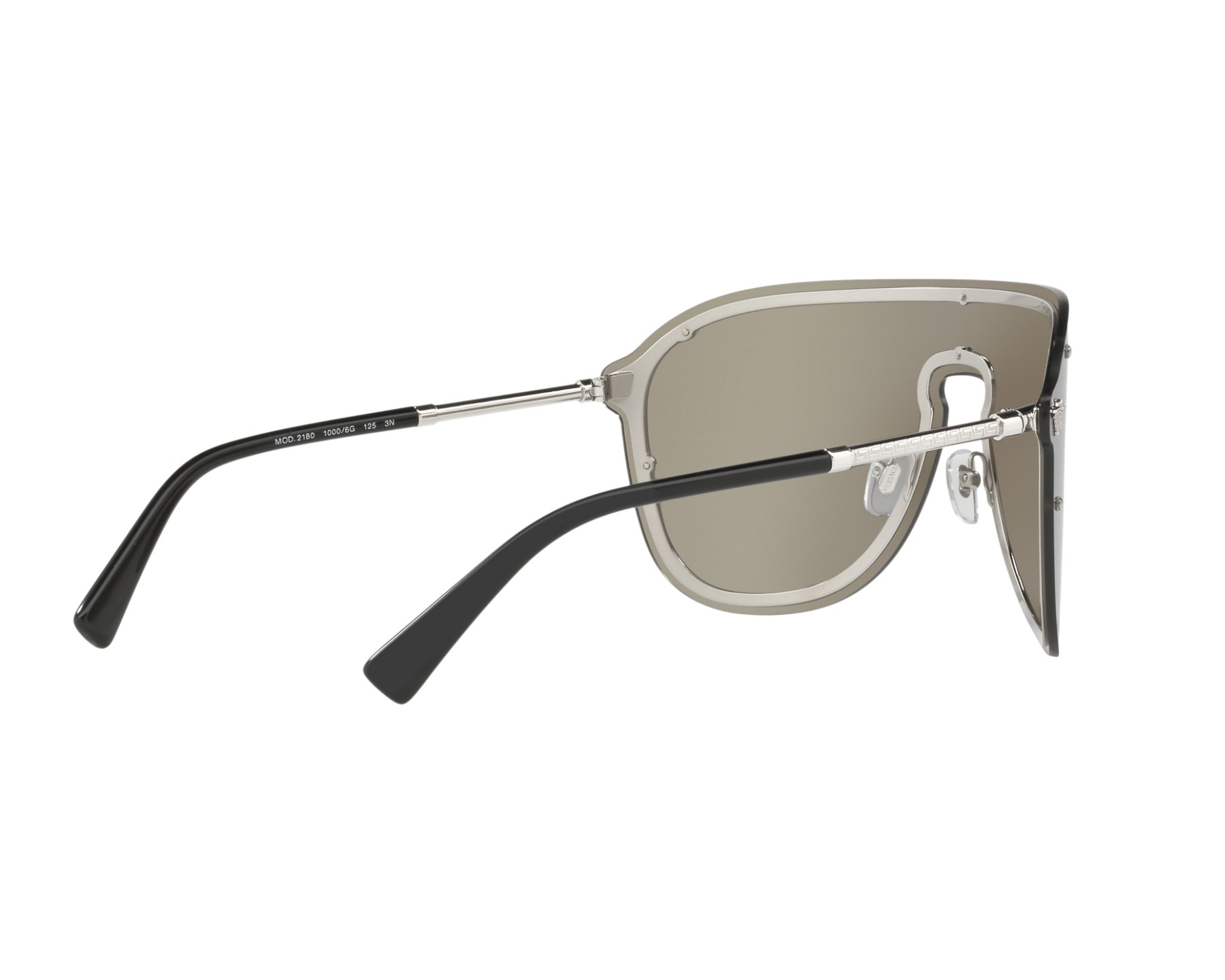 7d1bed2b98 Sunglasses Versace VE-2180 10006G 44- Silver 360 degree view 9