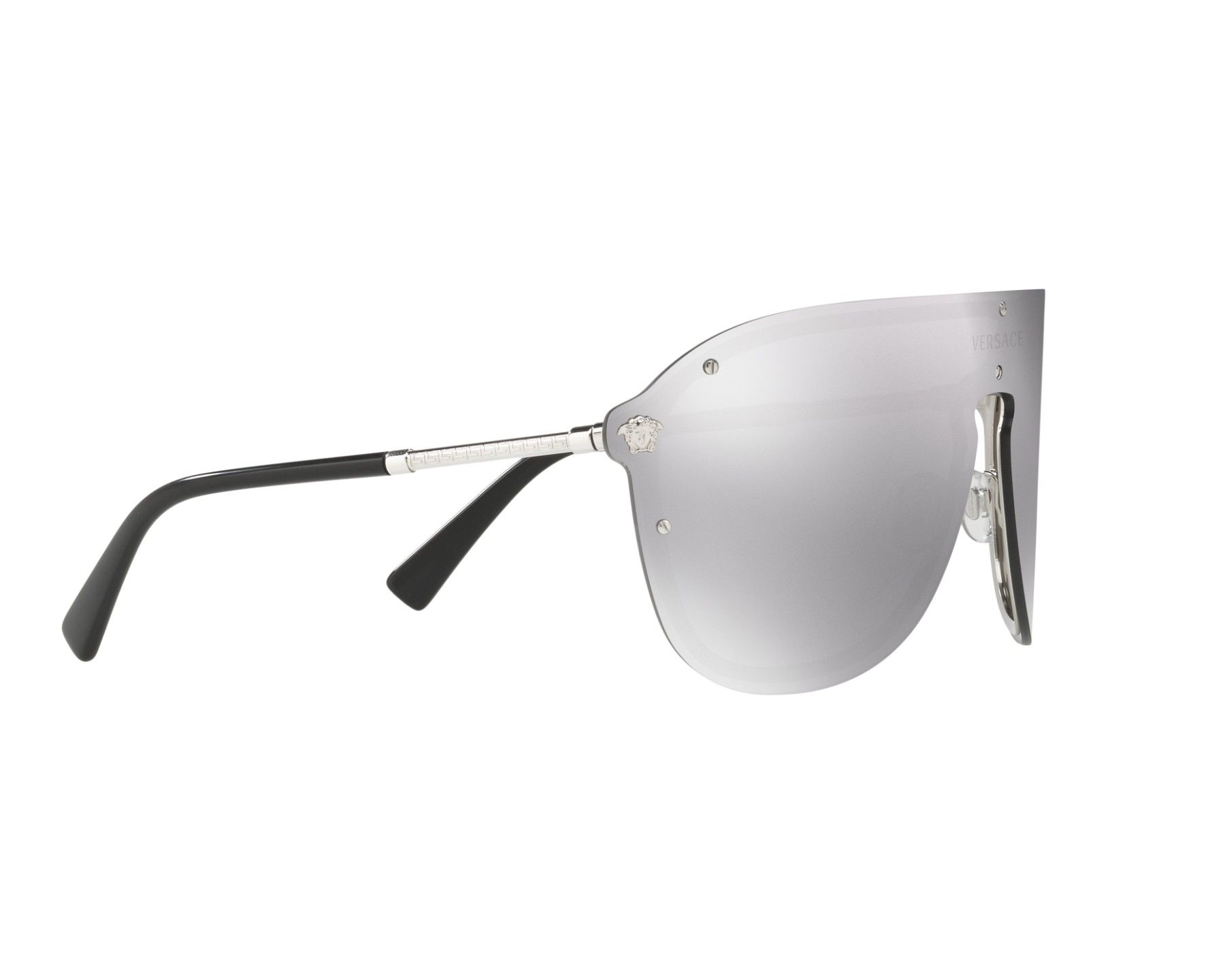 959705aee8 Sunglasses Versace VE-2180 10006G 44- Silver 360 degree view 11