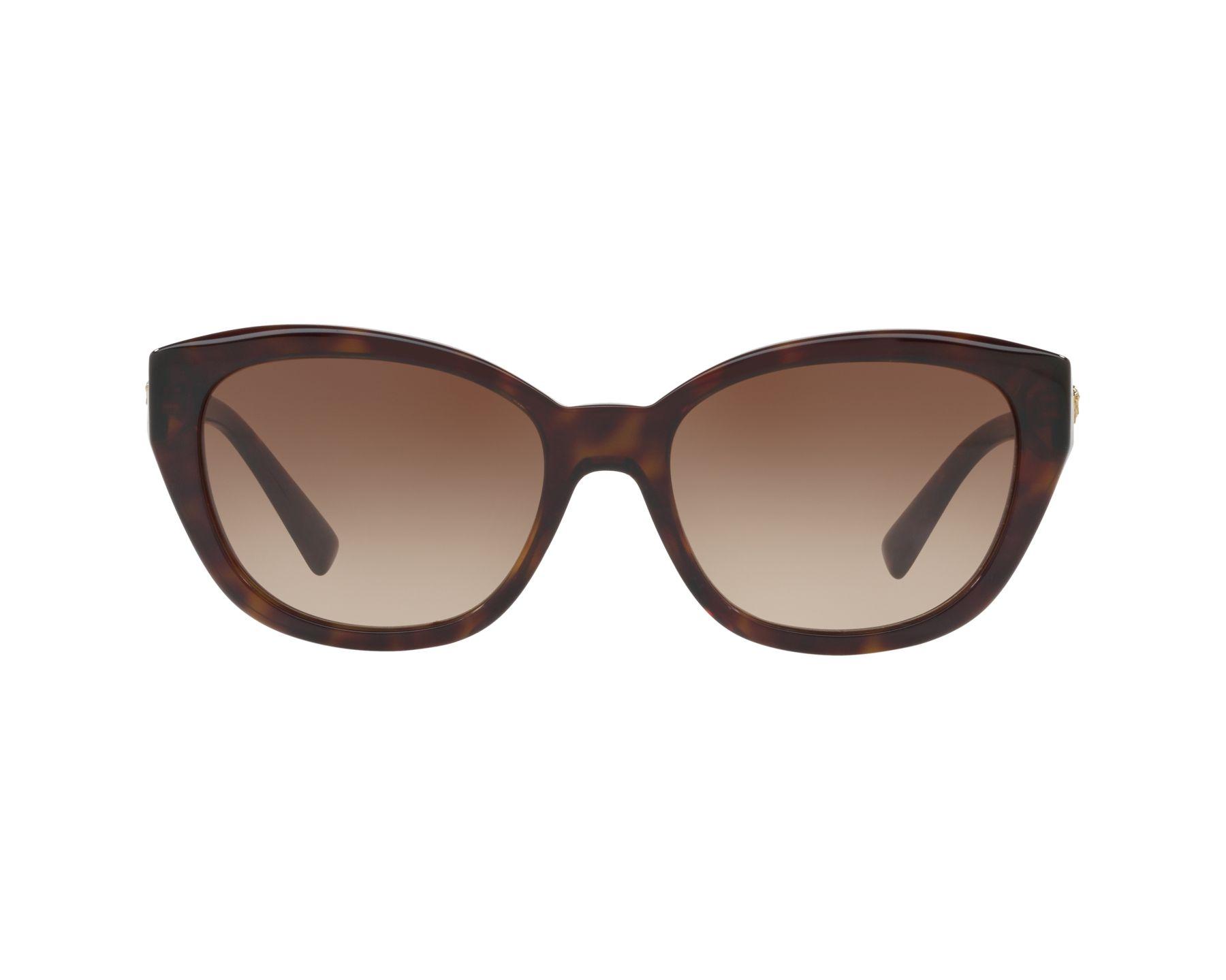 Versace Sunglasses Havana with Brown Lenses VE-4343 108/13 - Visionet US