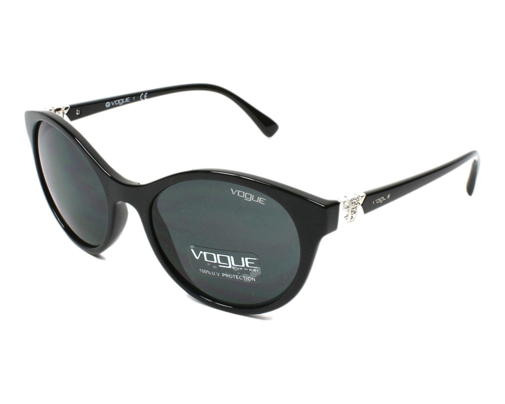 e96cd6289725e Sunglasses Vogue VO-5135-SB W44 87 52-18 Black profile view